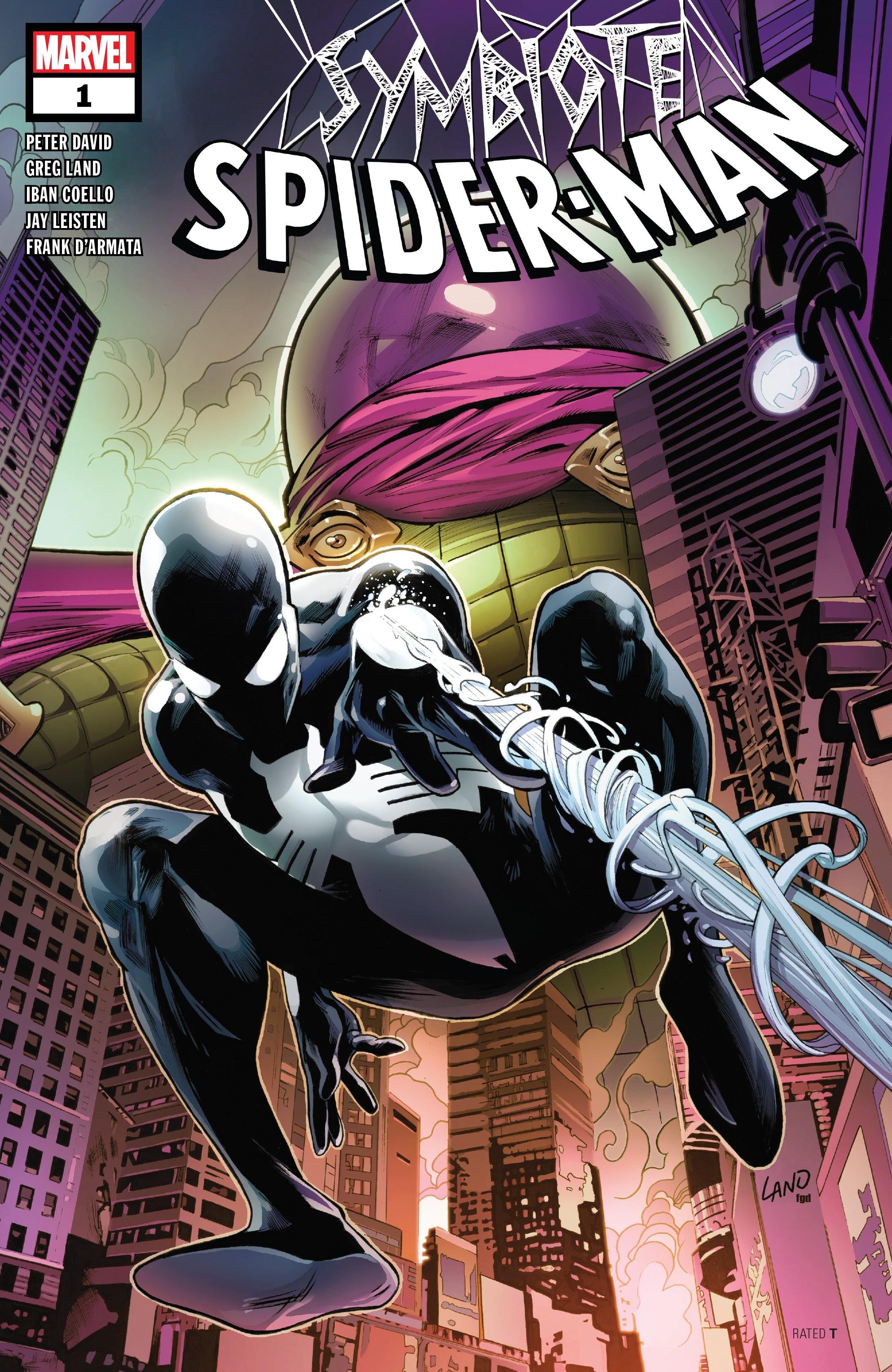 Symbiote Spider-Man 1 Page 1