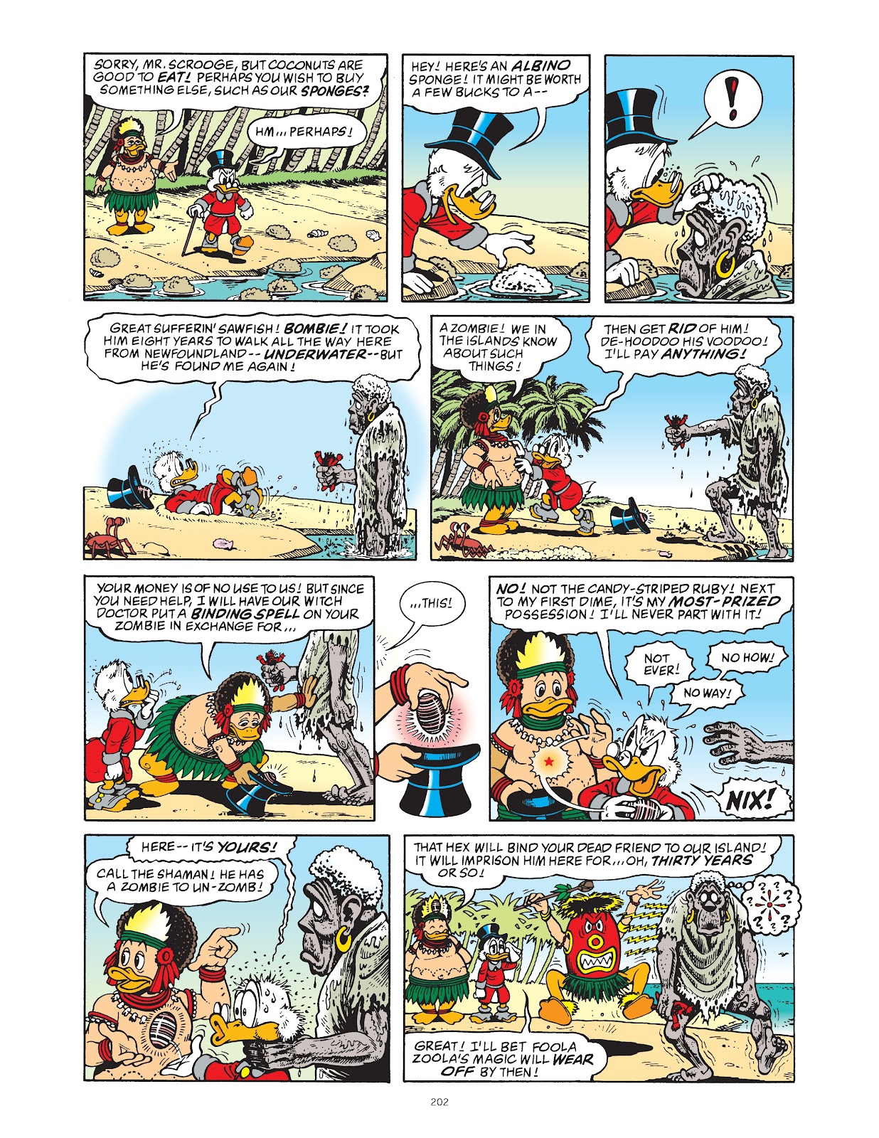 Read online The Complete Life and Times of Scrooge McDuck comic -  Issue # TPB 1 (Part 2) - 97
