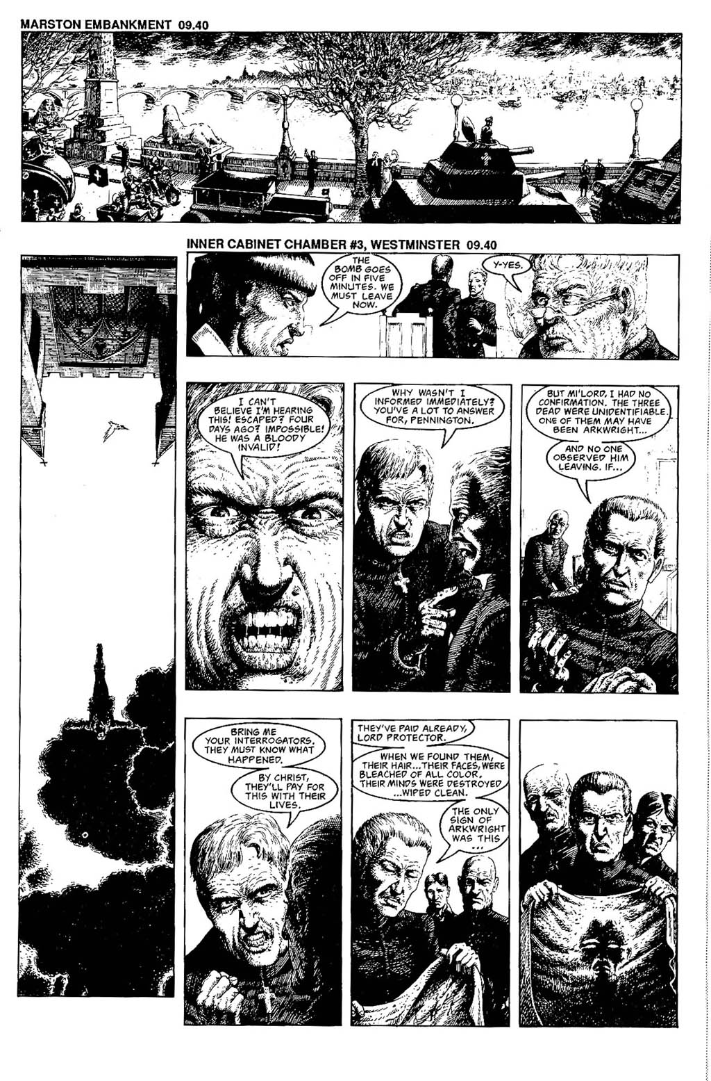 Read online The Adventures of Luther Arkwright comic -  Issue #7 - 23