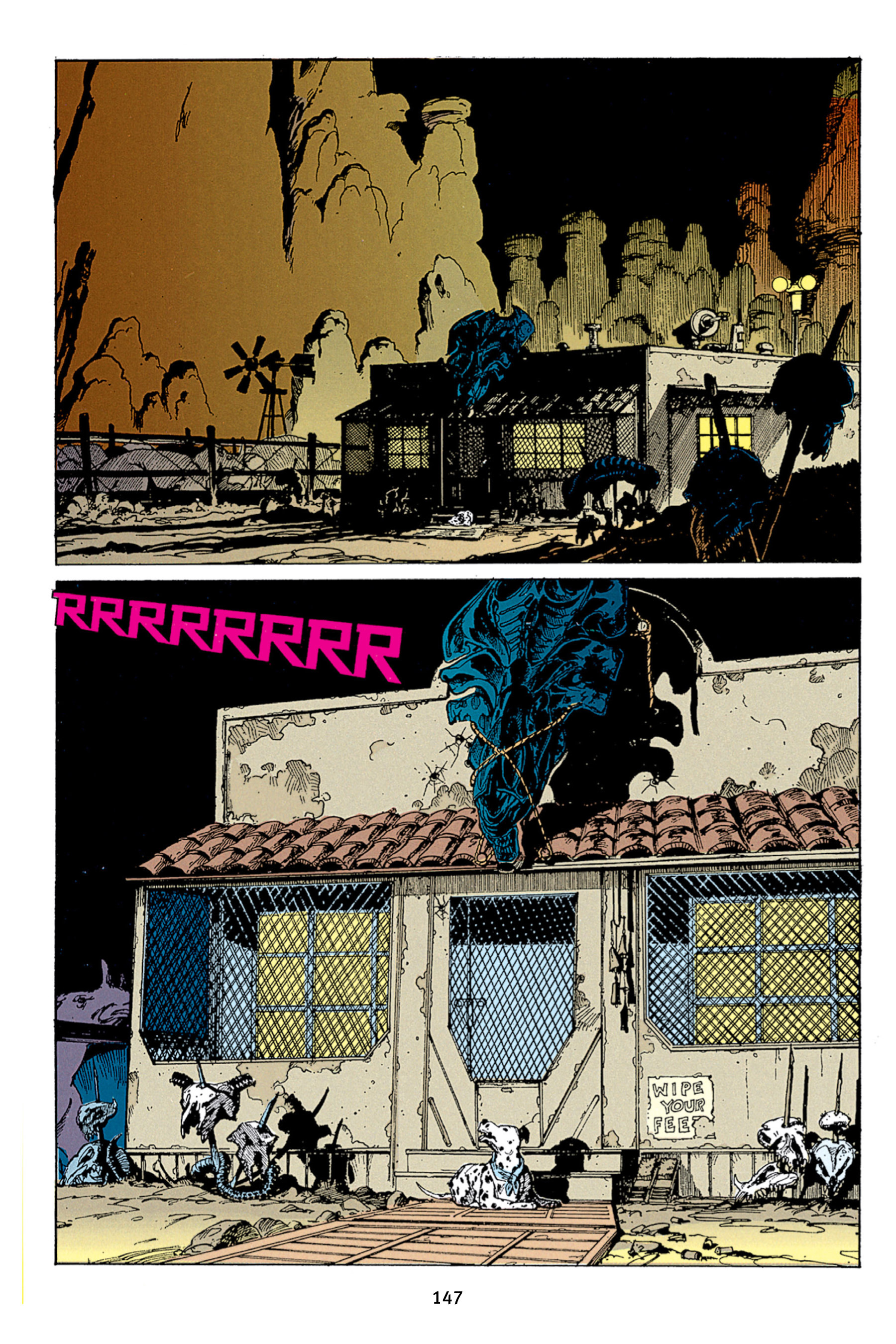 Read online Aliens vs. Predator Omnibus comic -  Issue # _TPB 1 Part 2 - 46