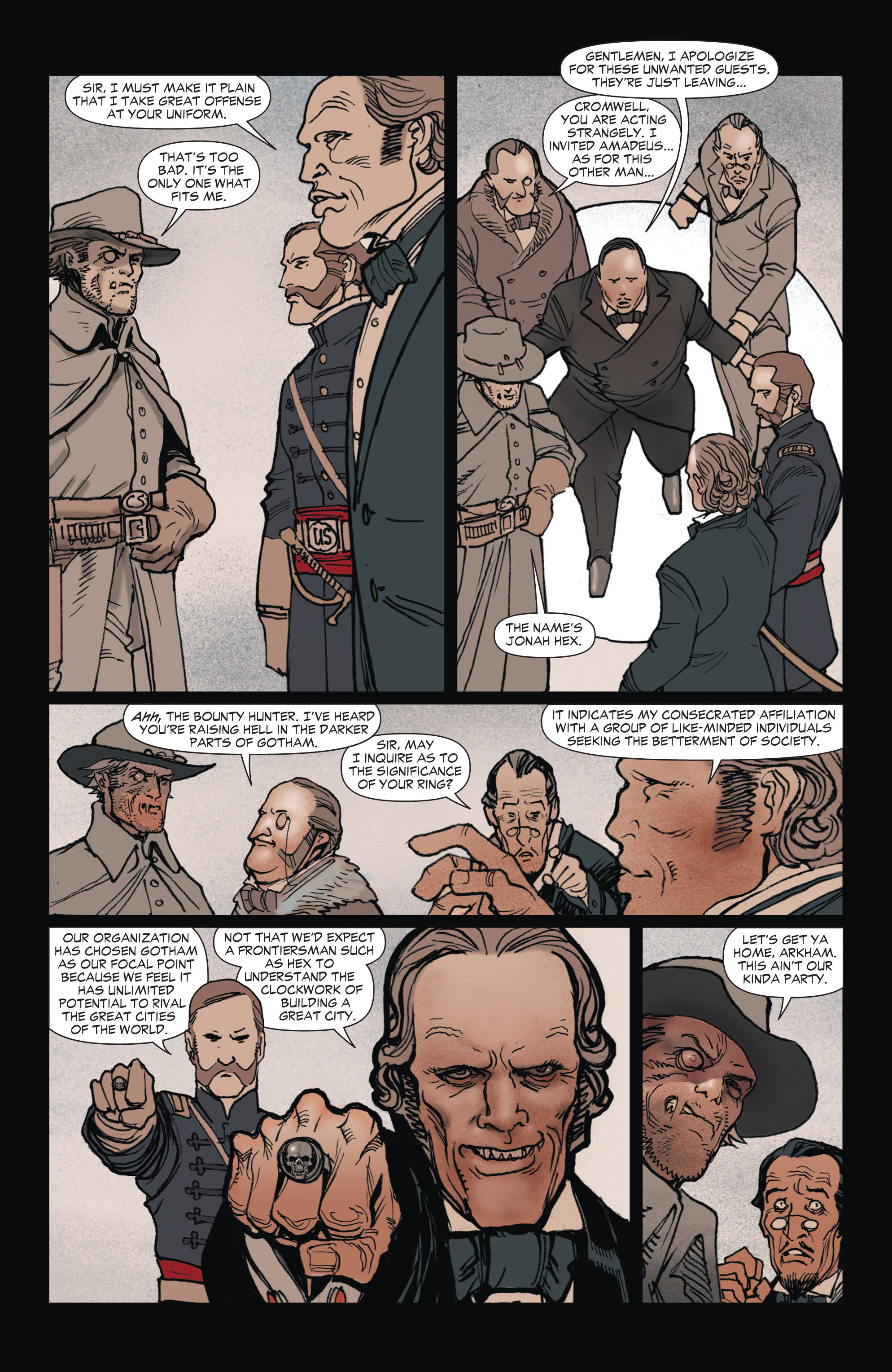 Read online All-Star Western (2011) comic -  Issue #1 - 29