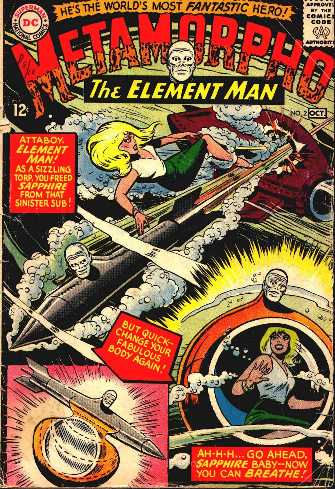 Metamorpho (1965) issue 2 - Page 1