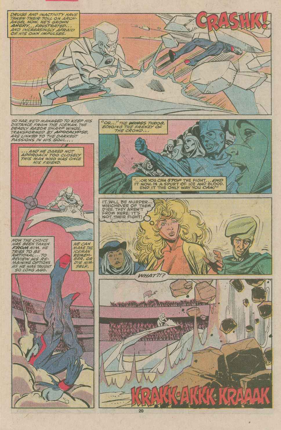 Read online X-Factor (1986) comic -  Issue #49 - 16