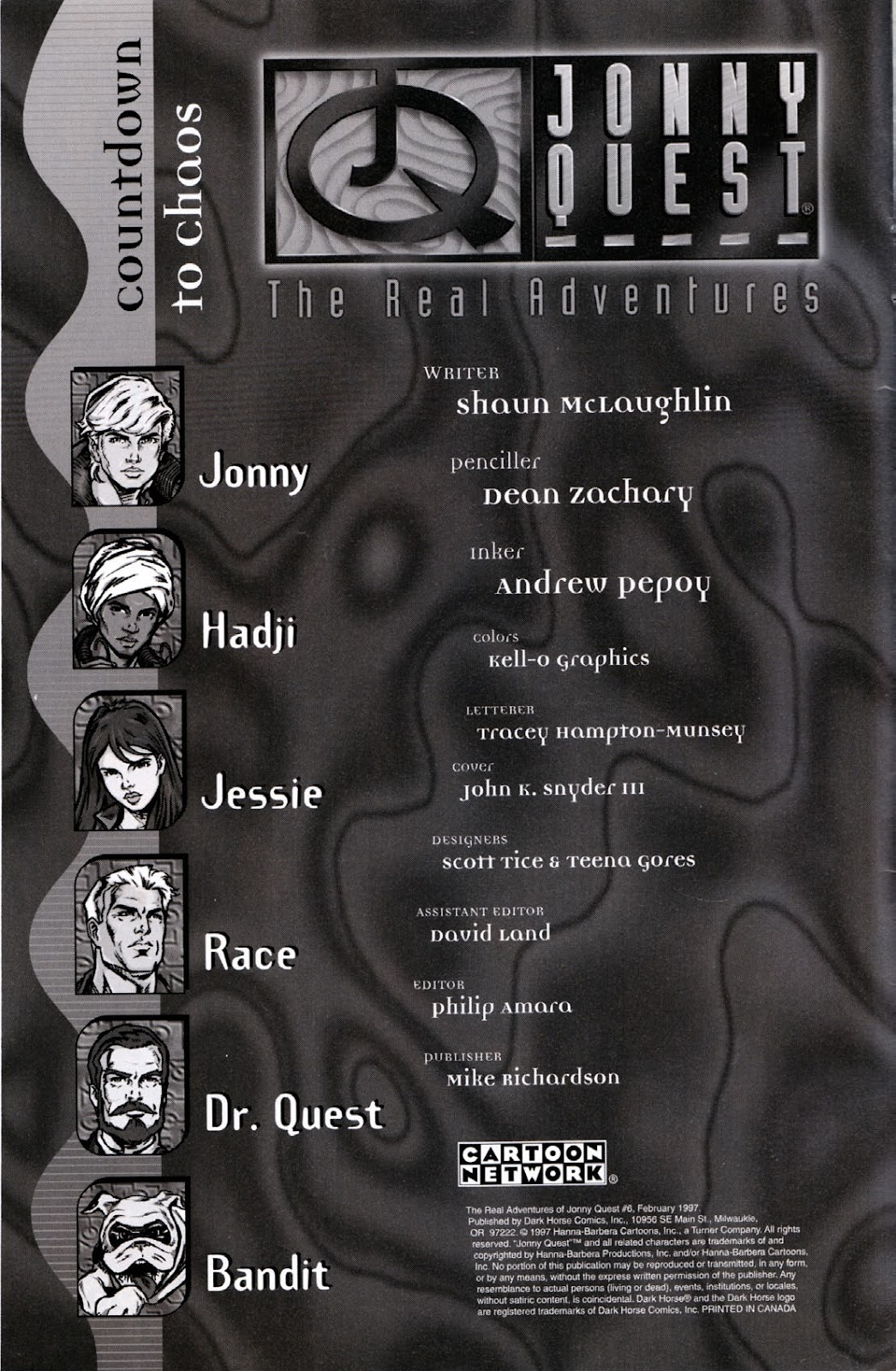 Read online The Real Adventures of Jonny Quest comic -  Issue #6 - 2