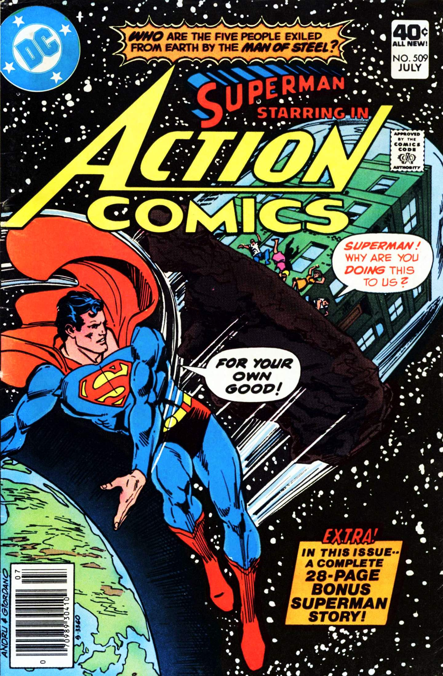 Read online Action Comics (1938) comic -  Issue #509 - 1