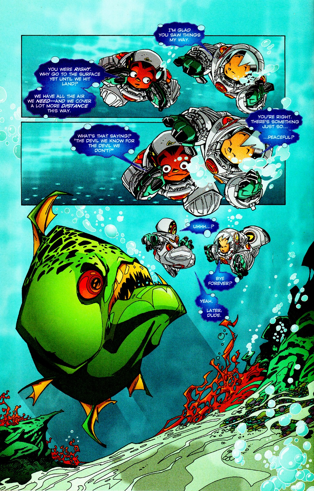 Read online Monster World (Existed) comic -  Issue #2 - 10