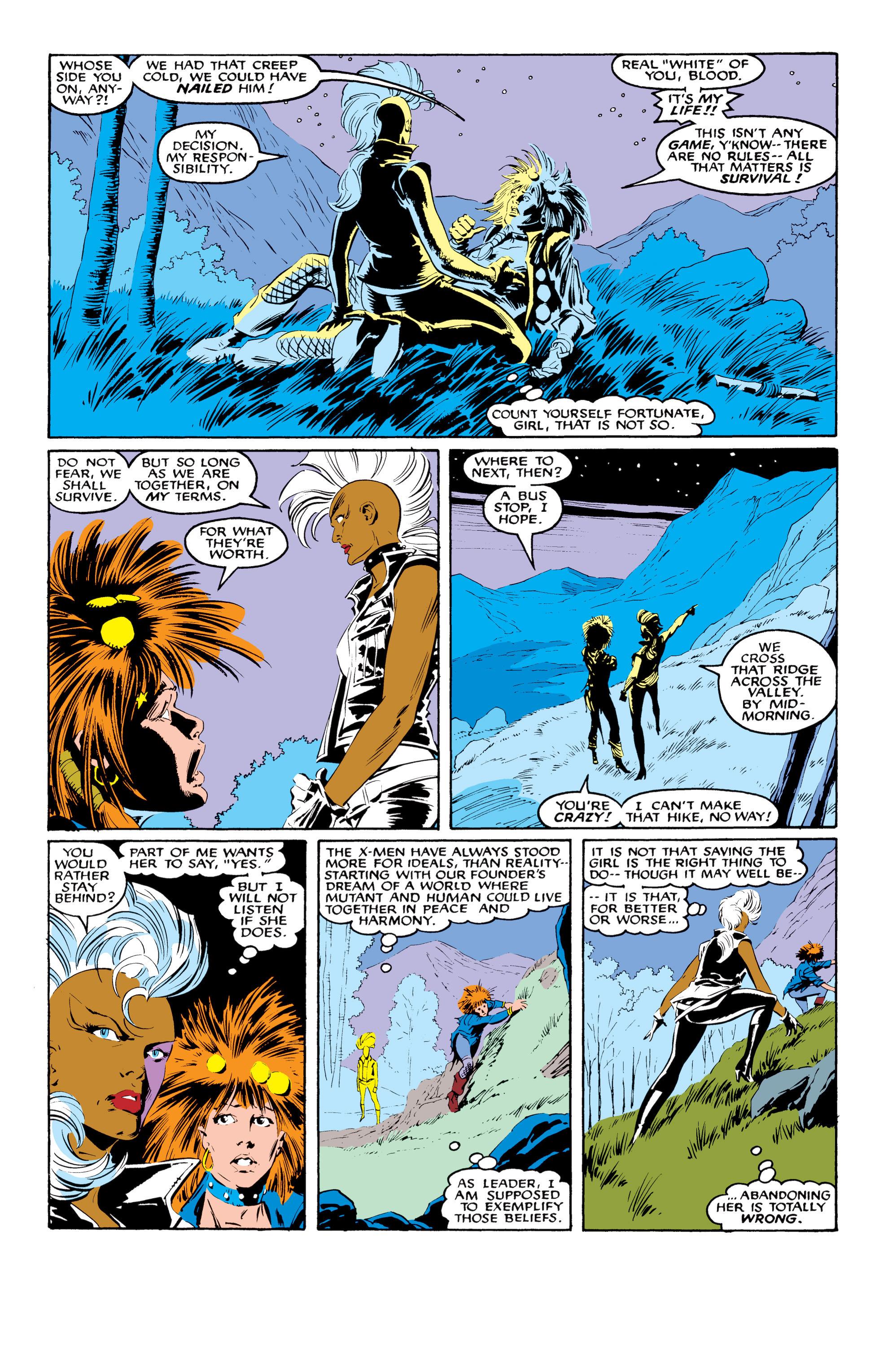 Read online Uncanny X-Men (1963) comic -  Issue #216 - 8