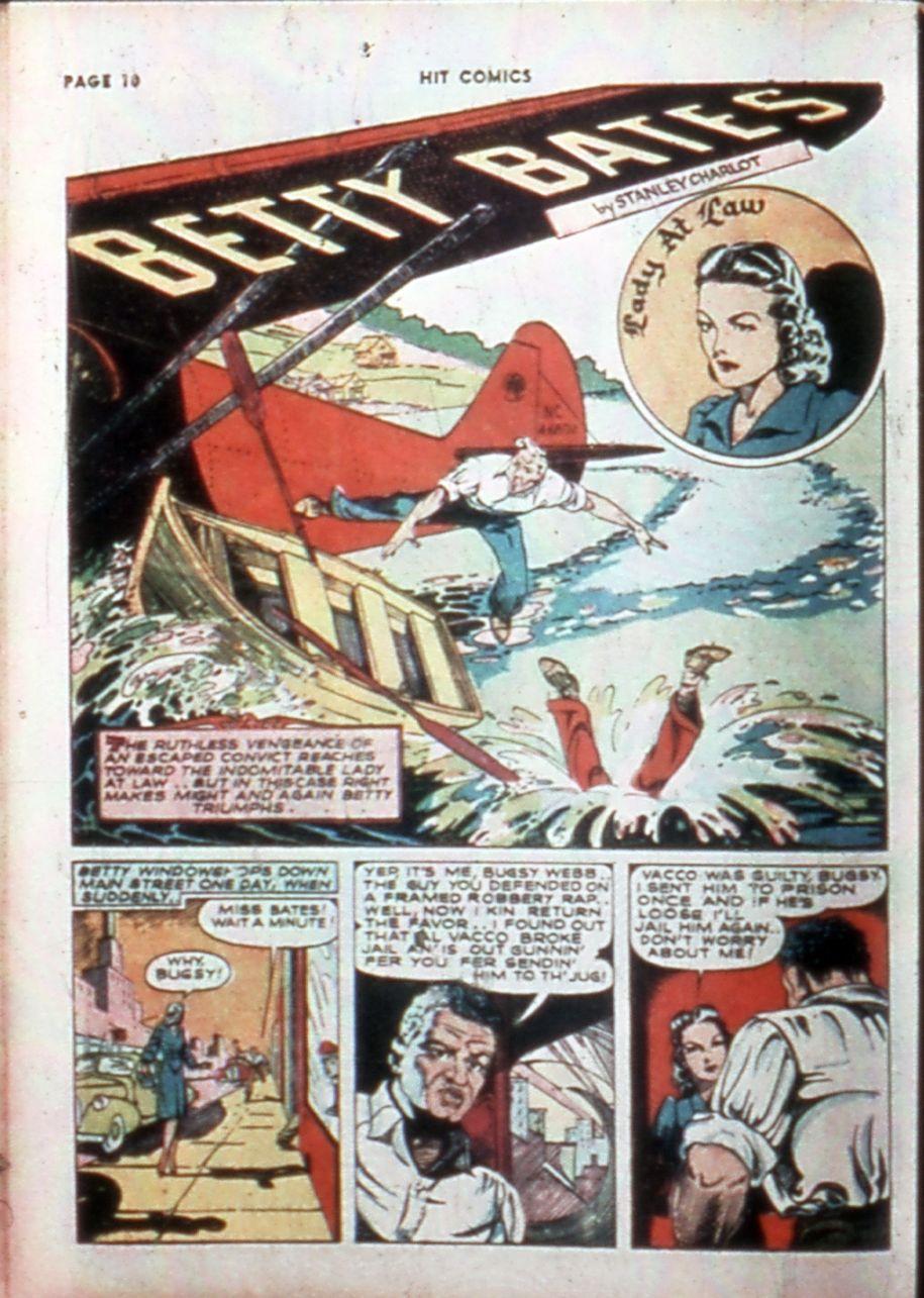 Read online Hit Comics comic -  Issue #14 - 12