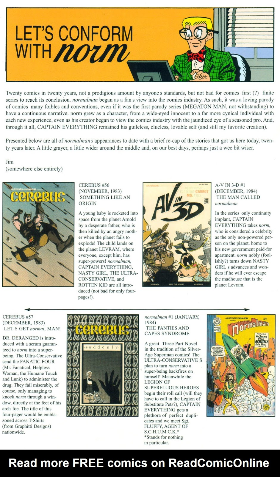 Read online Normalman 20th Anniversary Special comic -  Issue # Full - 22