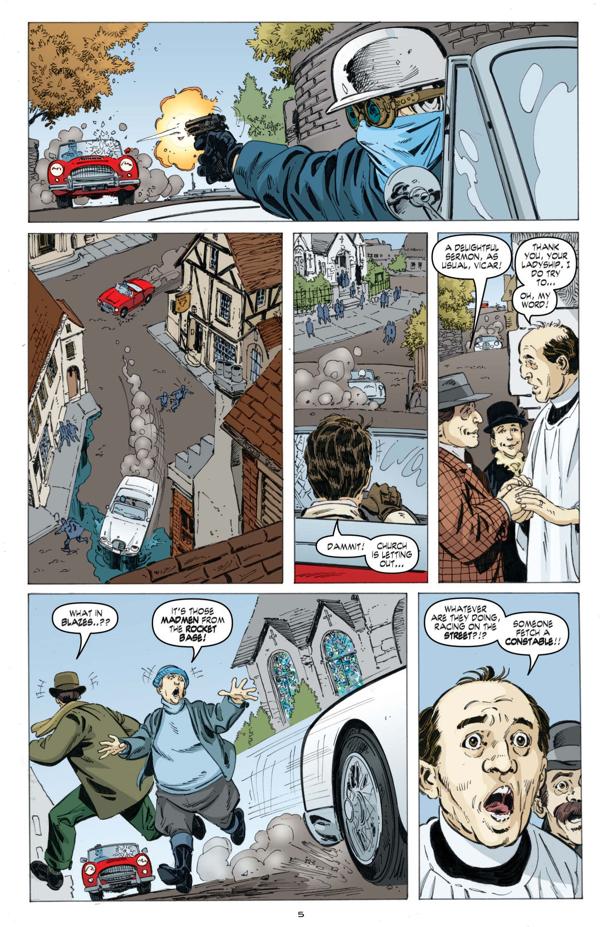 Read online Cold War comic -  Issue # TPB - 63