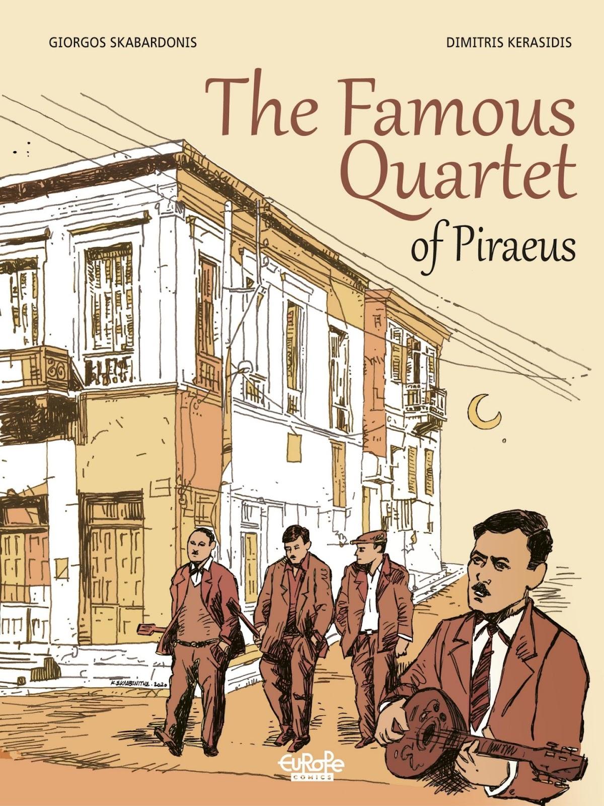 The Famous Quartet of Piraeus issue TPB - Page 1