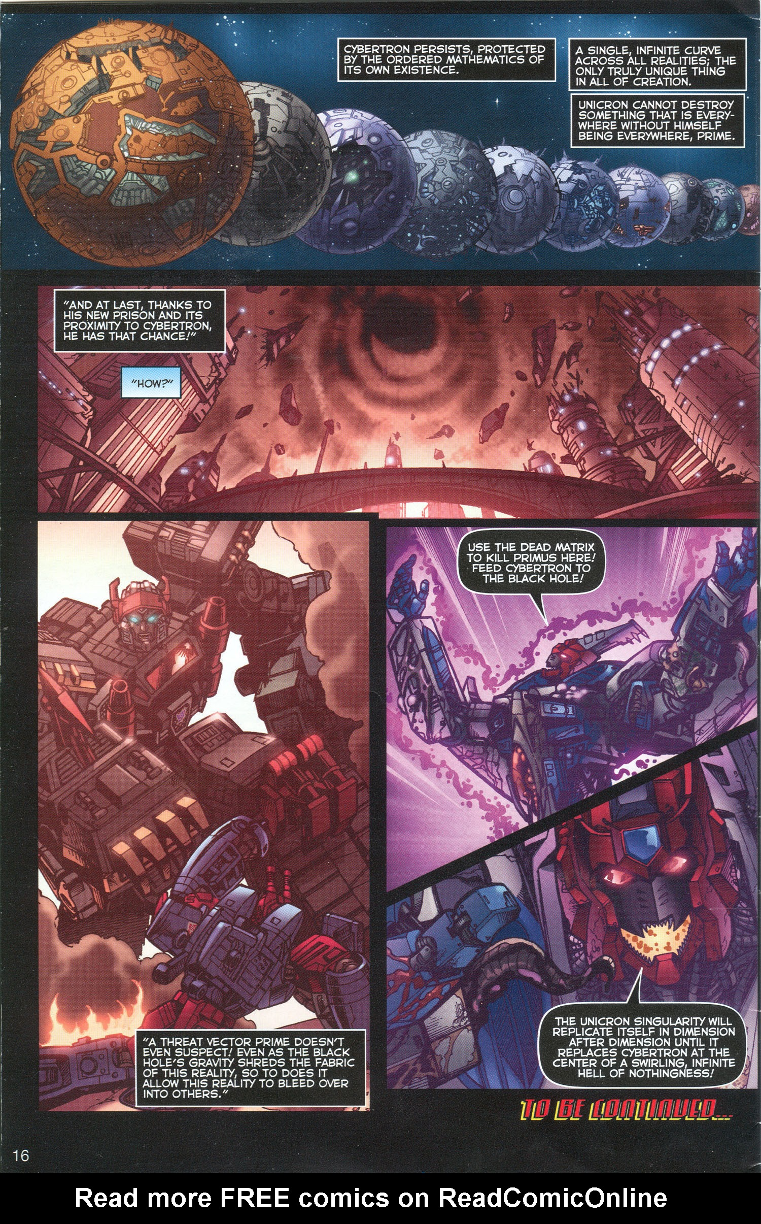 Read online Transformers: Collectors' Club comic -  Issue #3 - 16