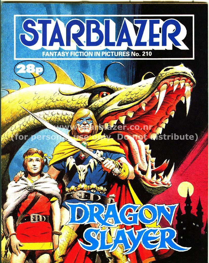 Starblazer issue 210 - Page 1