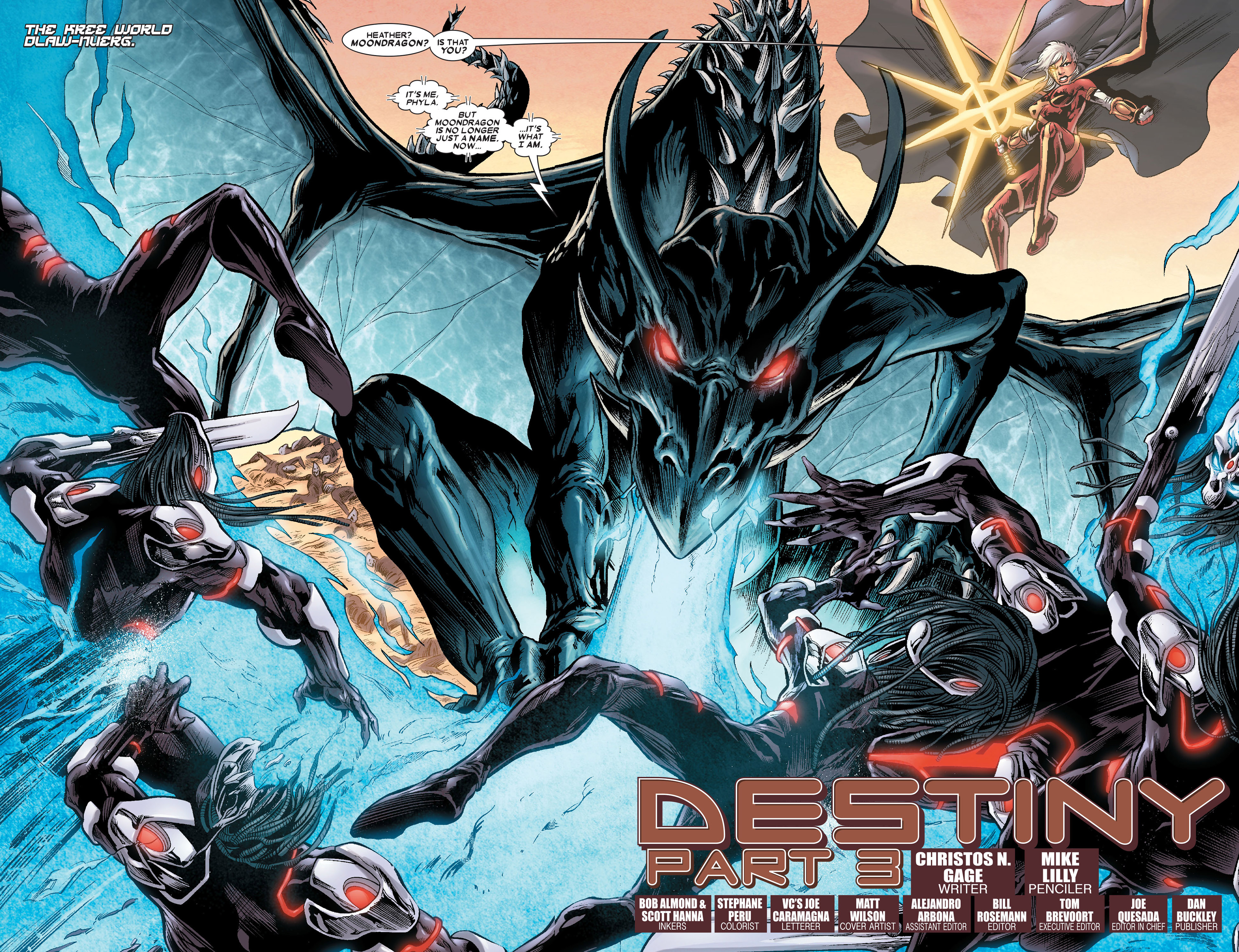 Read online Annihilation: Conquest - Quasar comic -  Issue #3 - 3