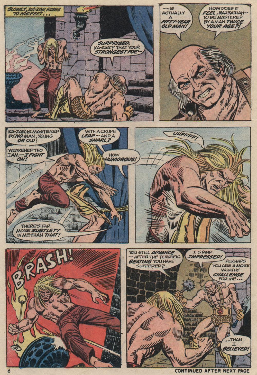 Read online Astonishing Tales (1970) comic -  Issue #20 - 6
