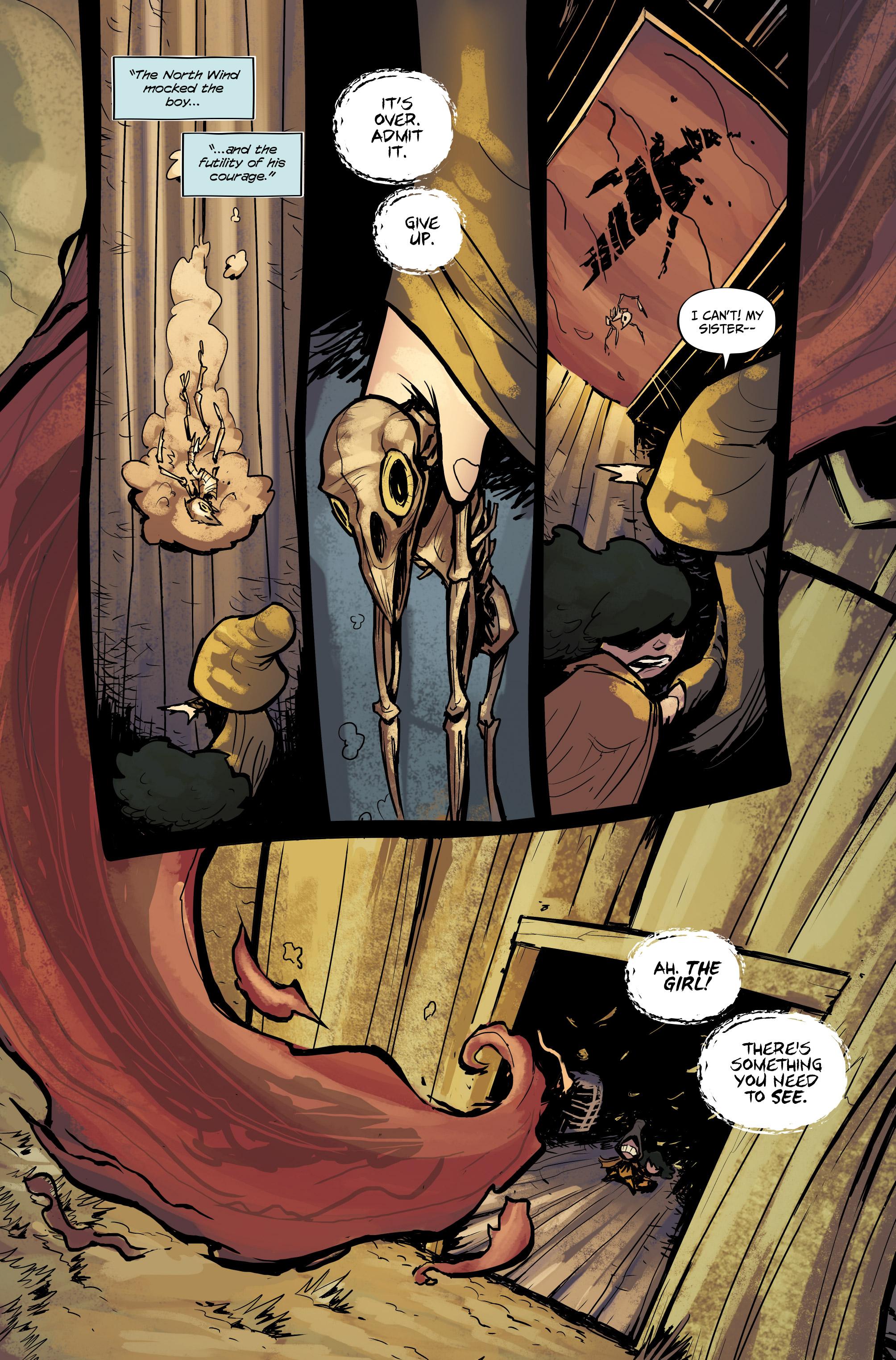 Read online Little Nightmares comic -  Issue #1 - 20