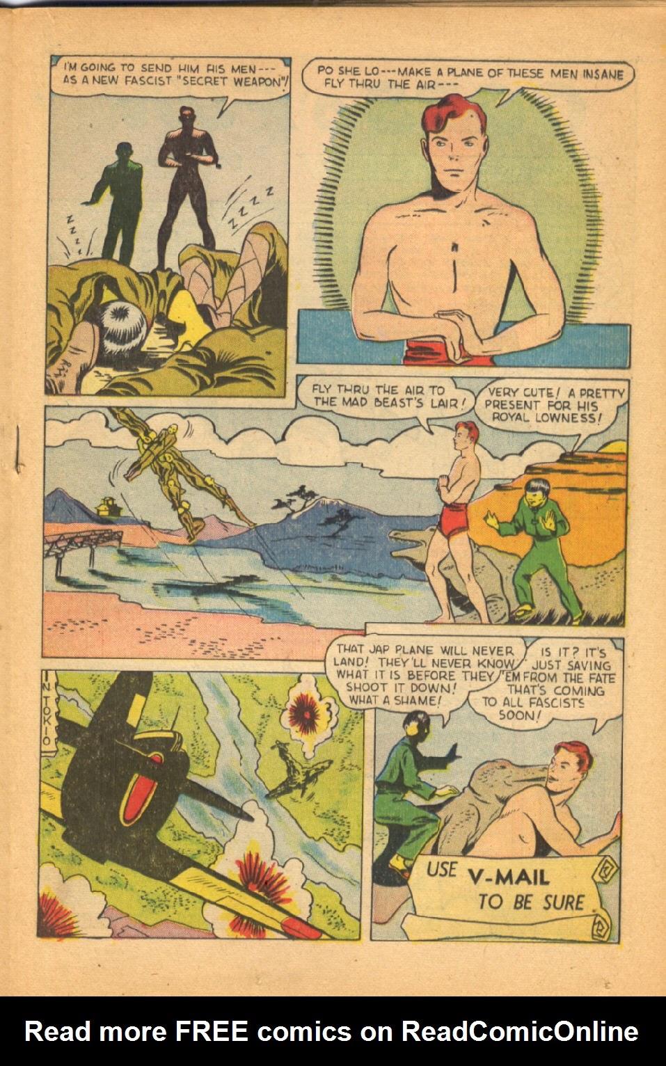 Read online Super-Magician Comics comic -  Issue #38 - 27