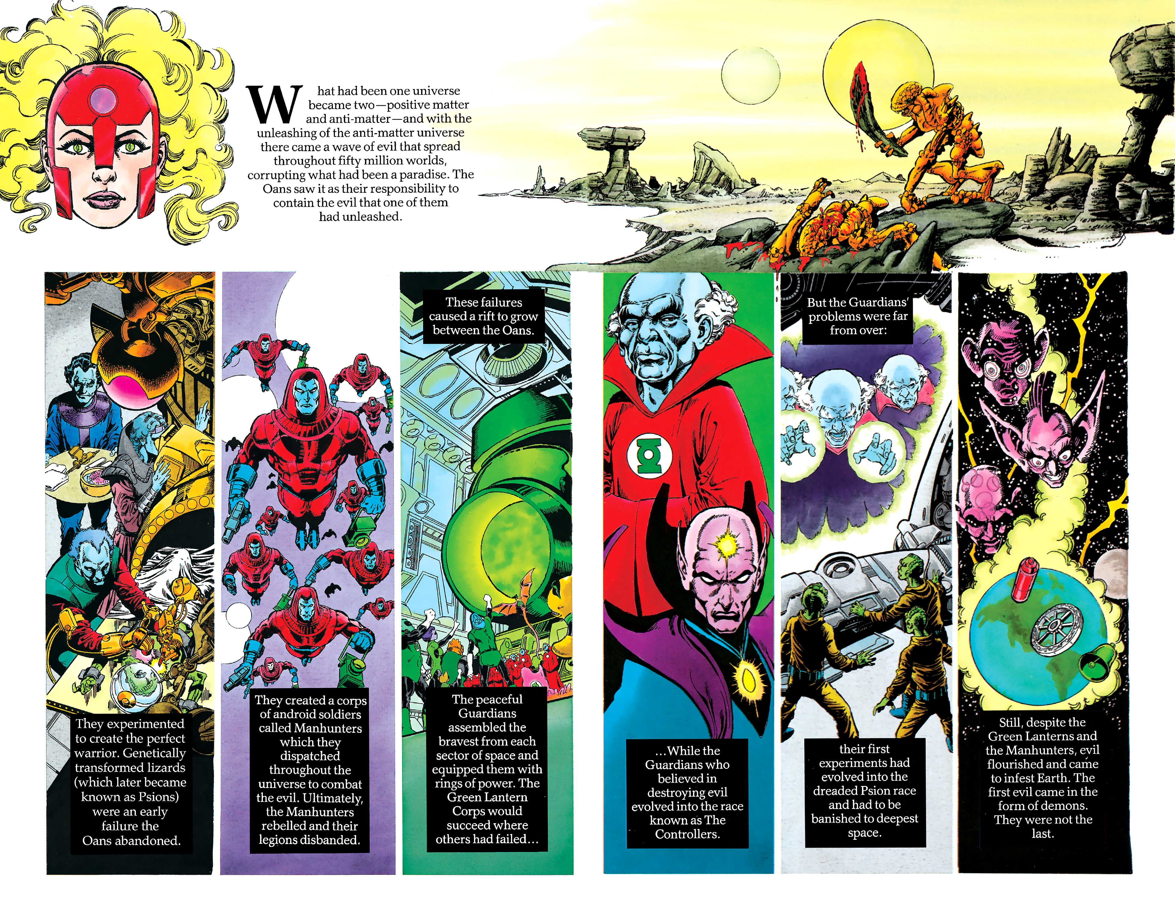 Read online History of the DC Universe comic -  Issue #1 - 7