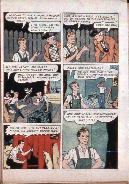Read online Super-Magician Comics comic -  Issue #3 - 48