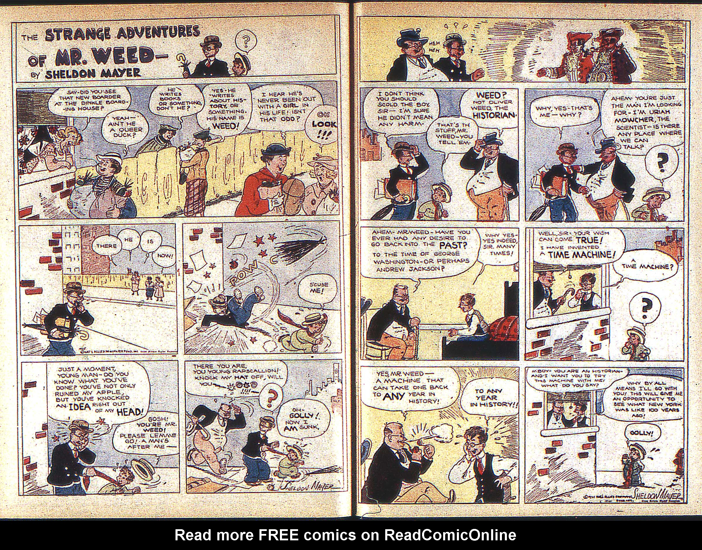 Read online Adventure Comics (1938) comic -  Issue #1 - 34