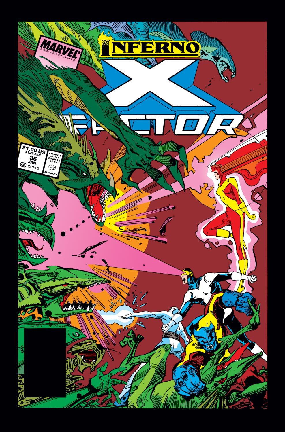 Read online X-Factor (1986) comic -  Issue #36 - 1