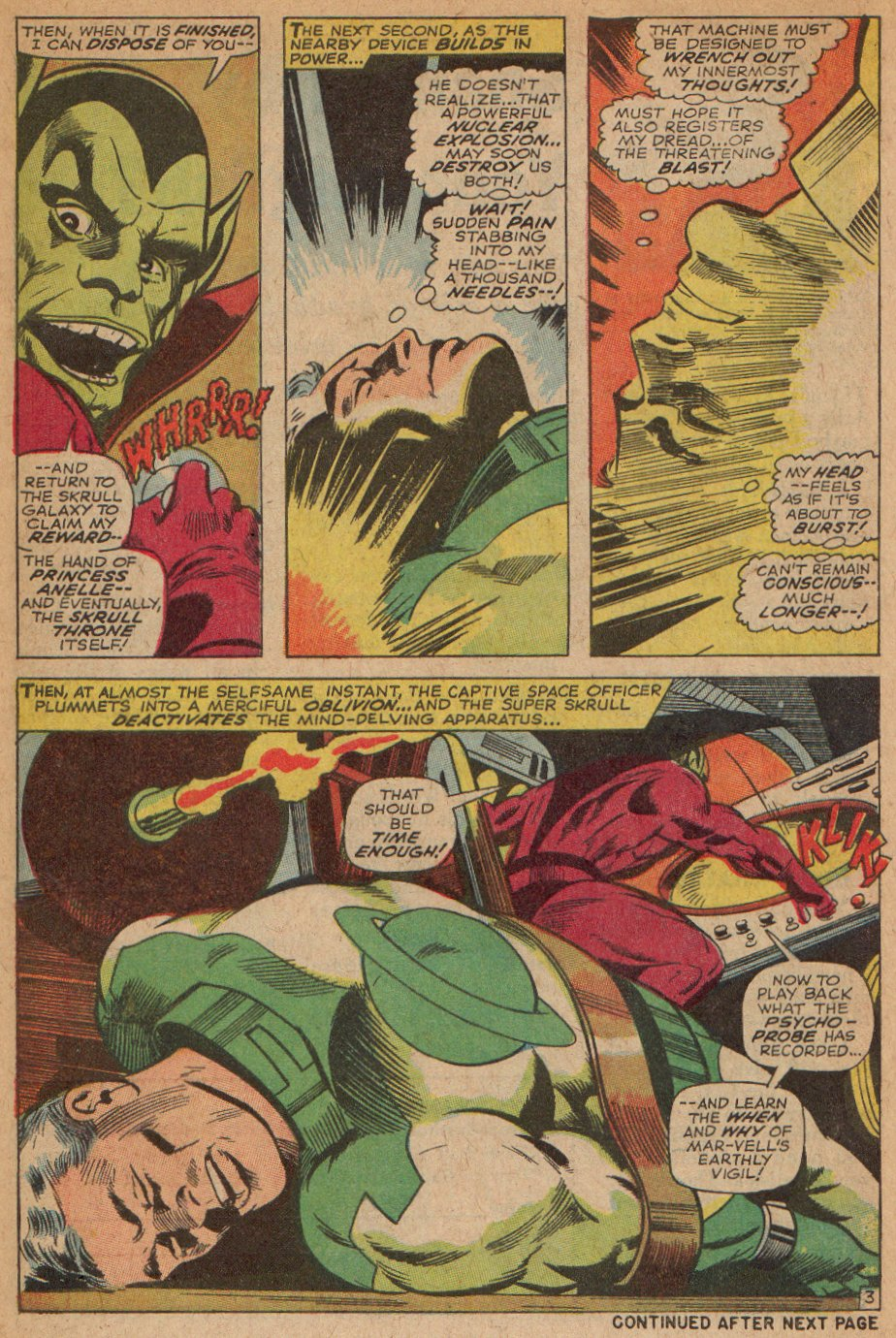 Captain Marvel (1968) Issue #3 #3 - English 4
