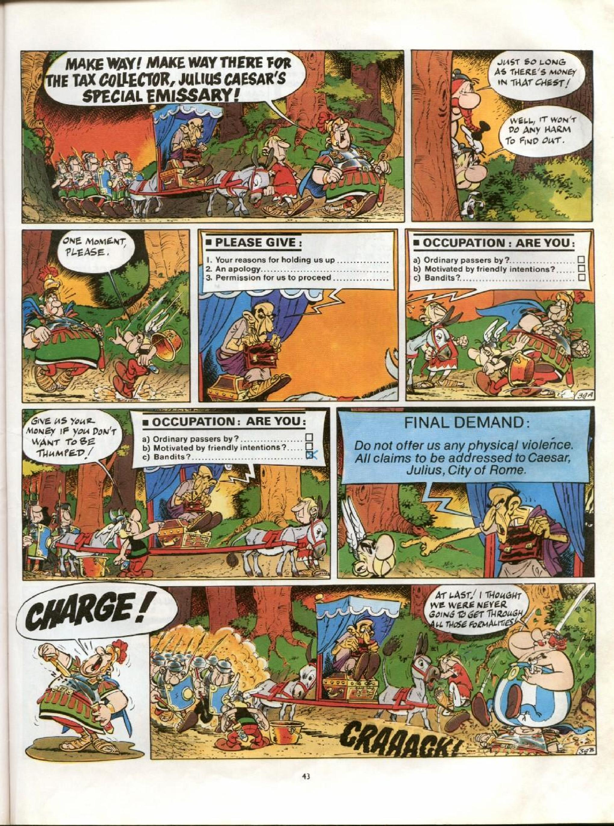 Read online Asterix comic -  Issue #13 - 40