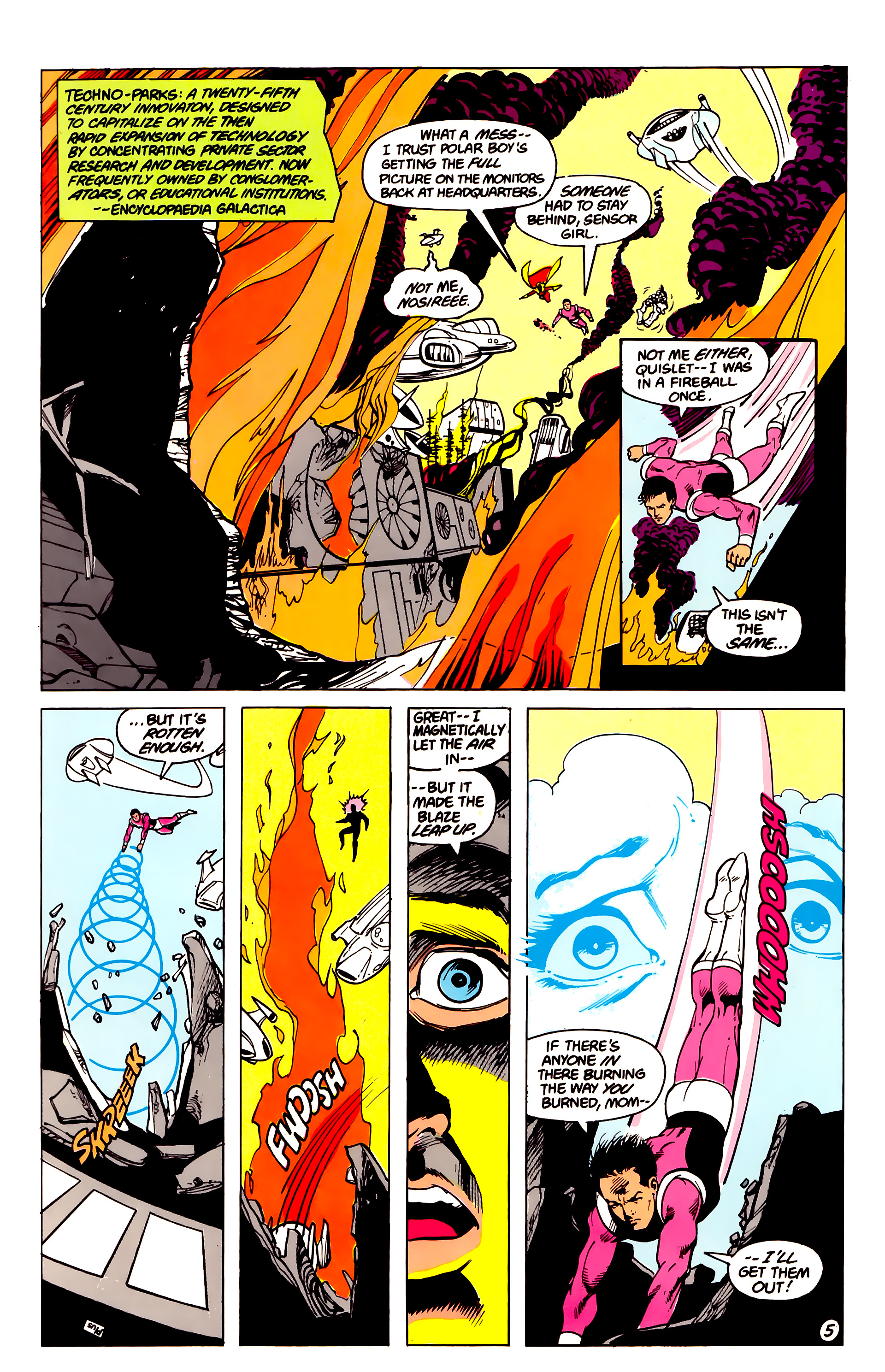 Legion of Super-Heroes (1984) 16 Page 6