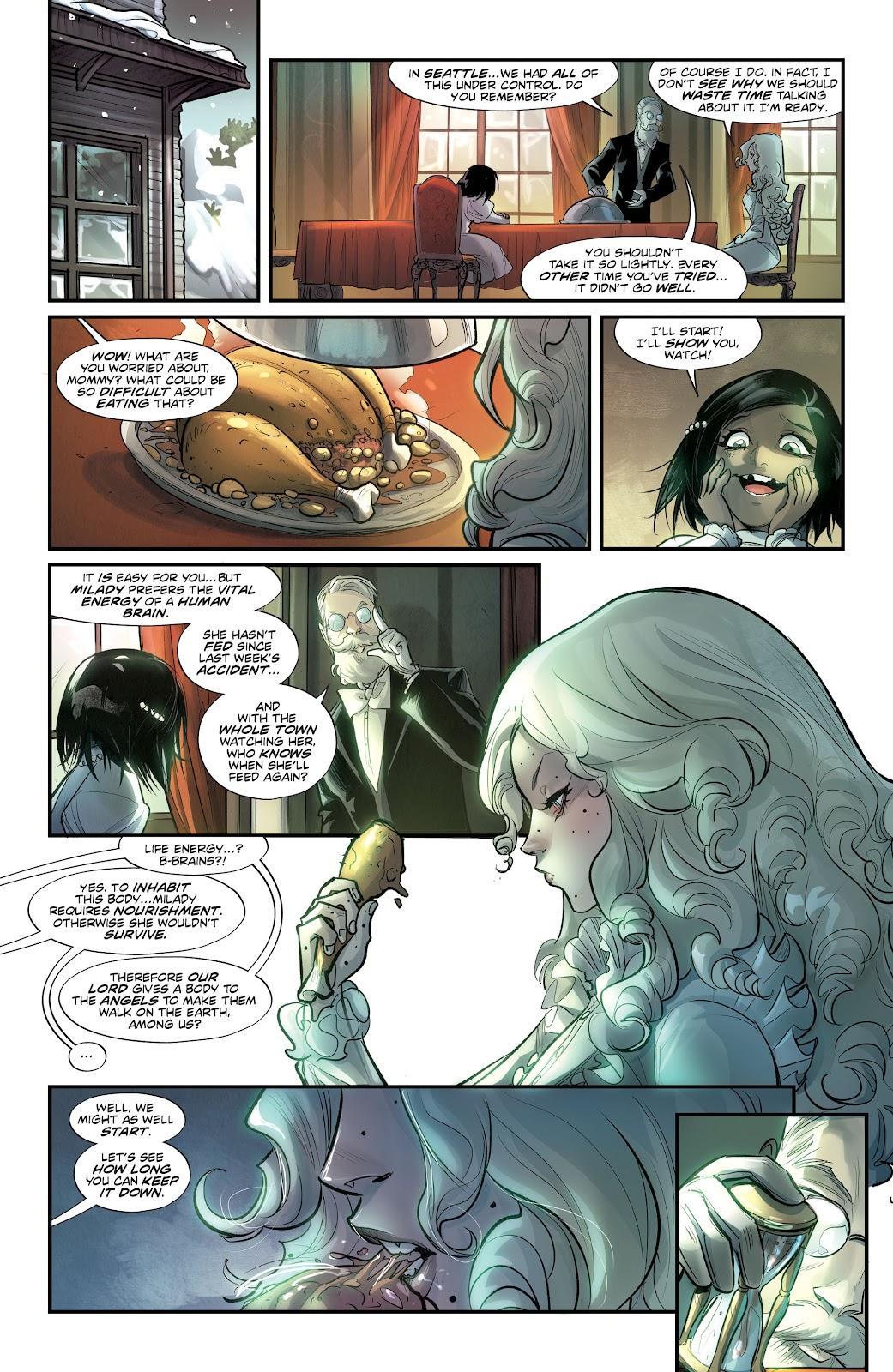 Read online Mirka Andolfo's Mercy comic -  Issue #3 - 19
