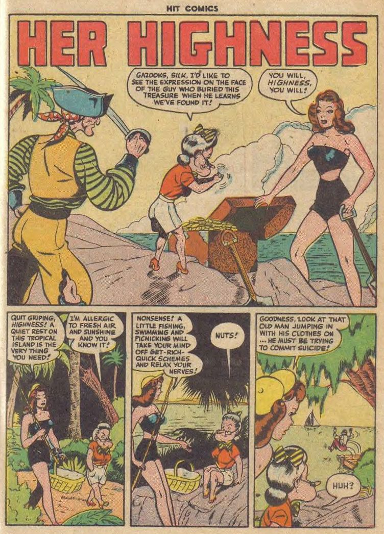 Read online Hit Comics comic -  Issue #45 - 31