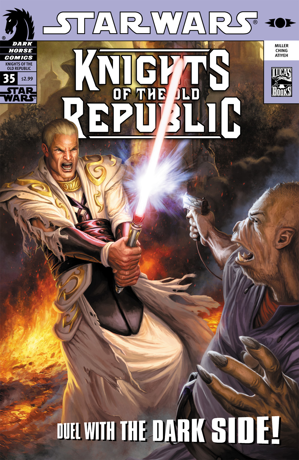 Star Wars: Knights Of The Old Republic issue 35 - Page 1