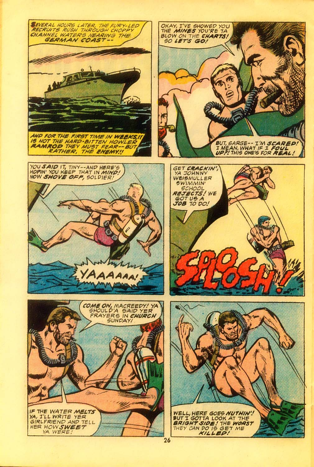 Read online Sgt. Fury comic -  Issue #116 - 28
