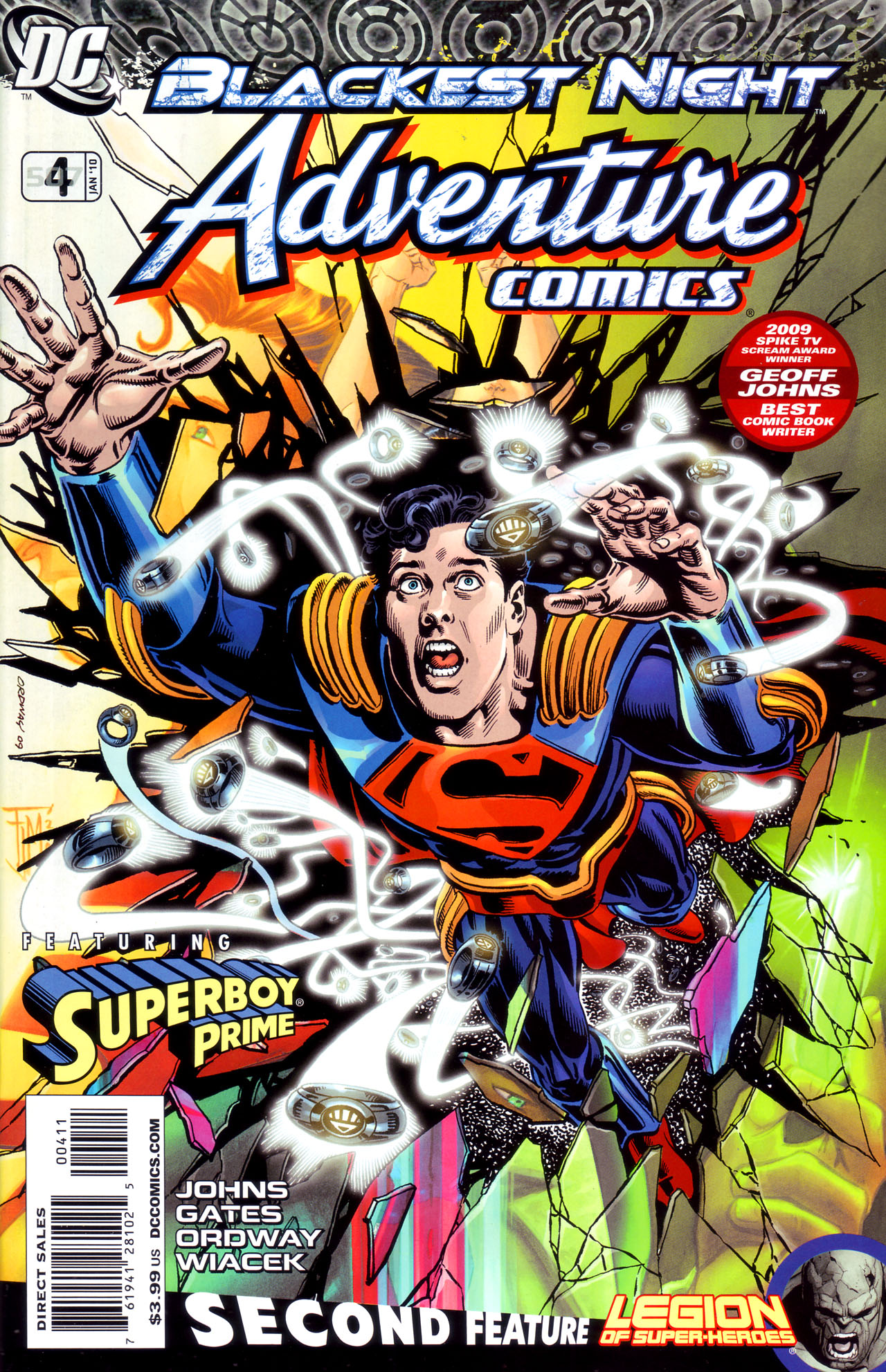 Read online Adventure Comics (2009) comic -  Issue #4 - 1