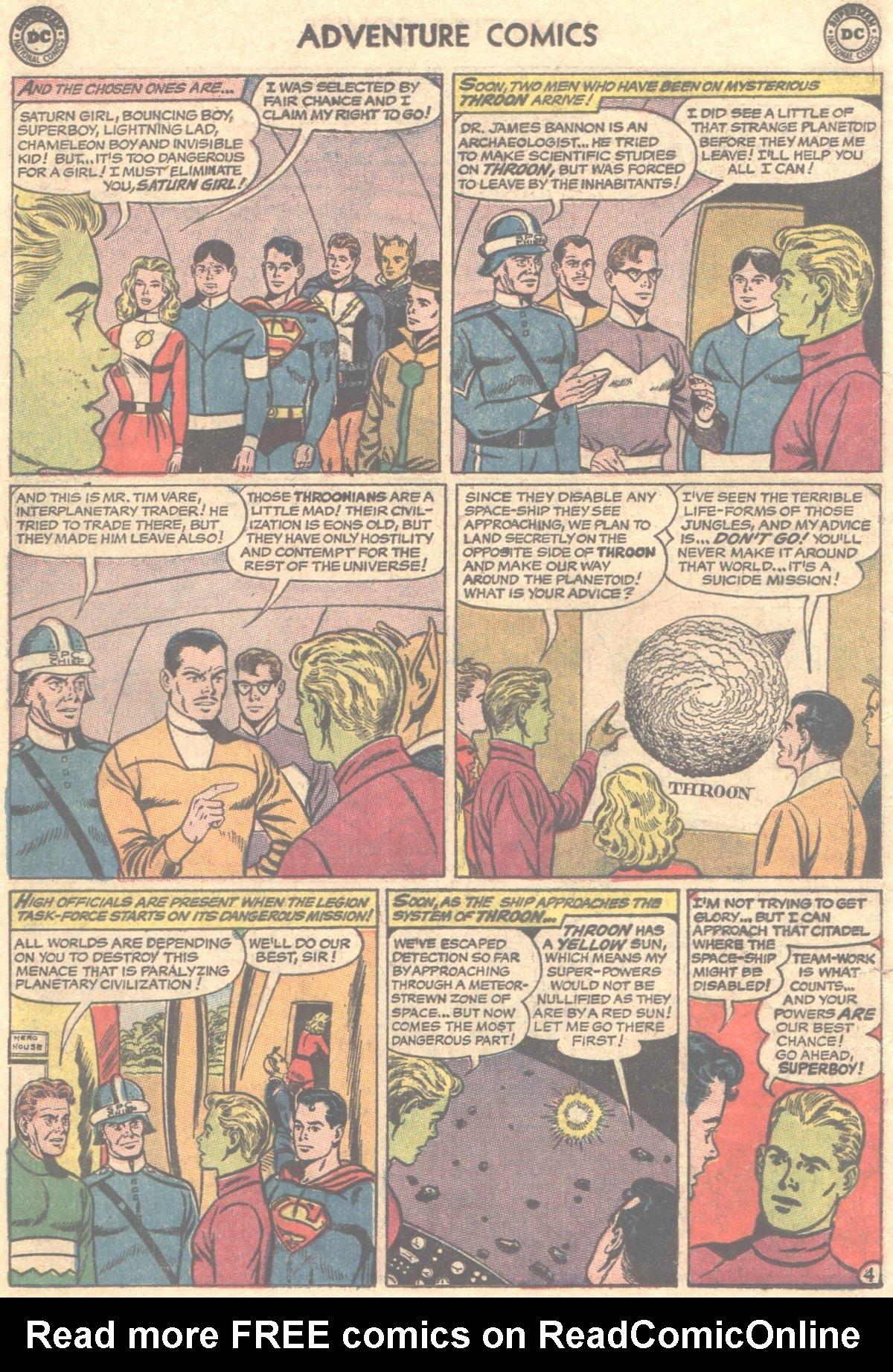 Read online Adventure Comics (1938) comic -  Issue #319 - 7