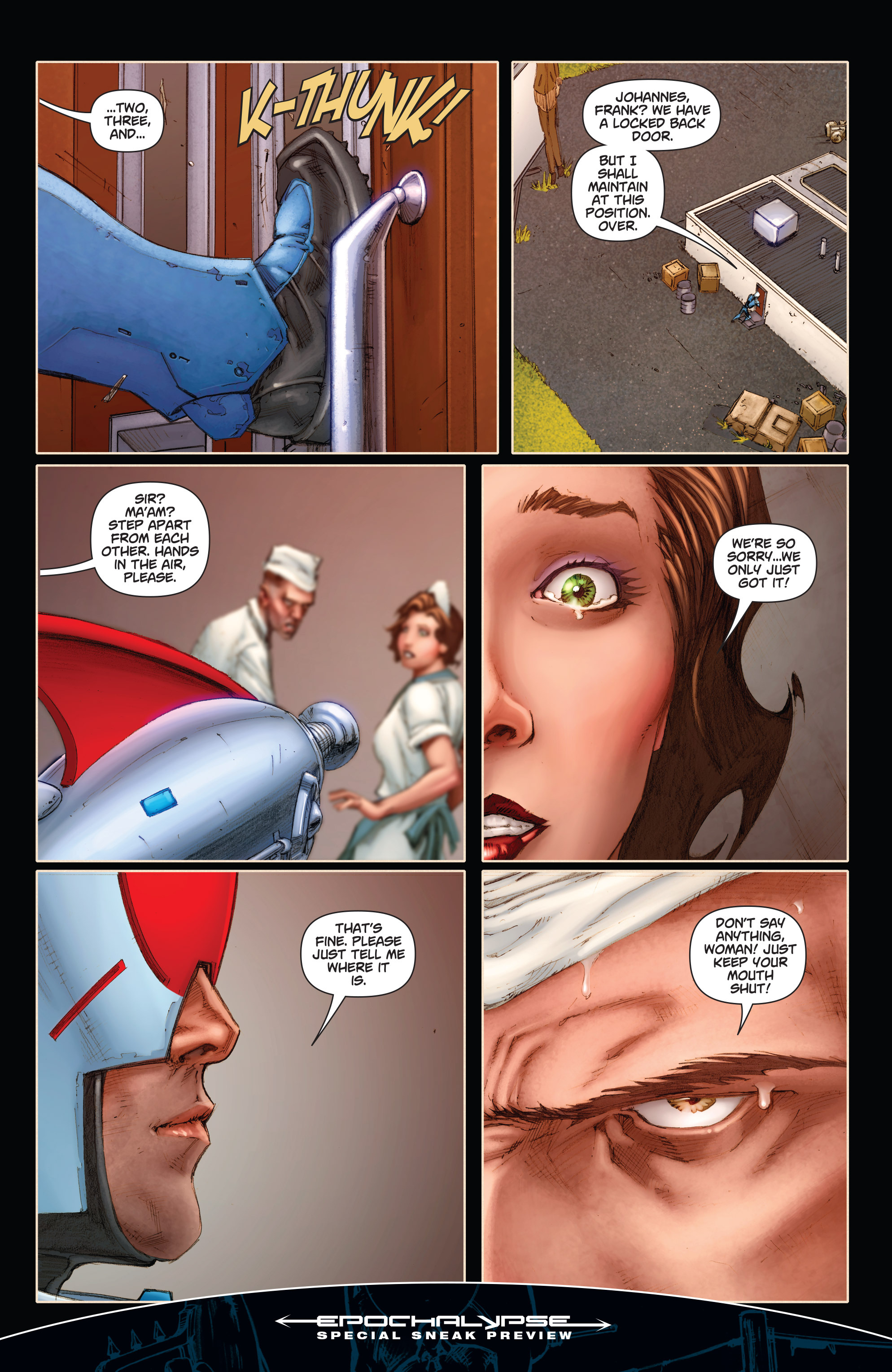 Read online Annihilator comic -  Issue #1 - 36