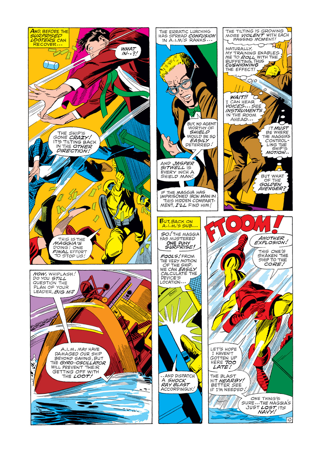 Iron Man and Sub-Mariner issue Full - Page 11