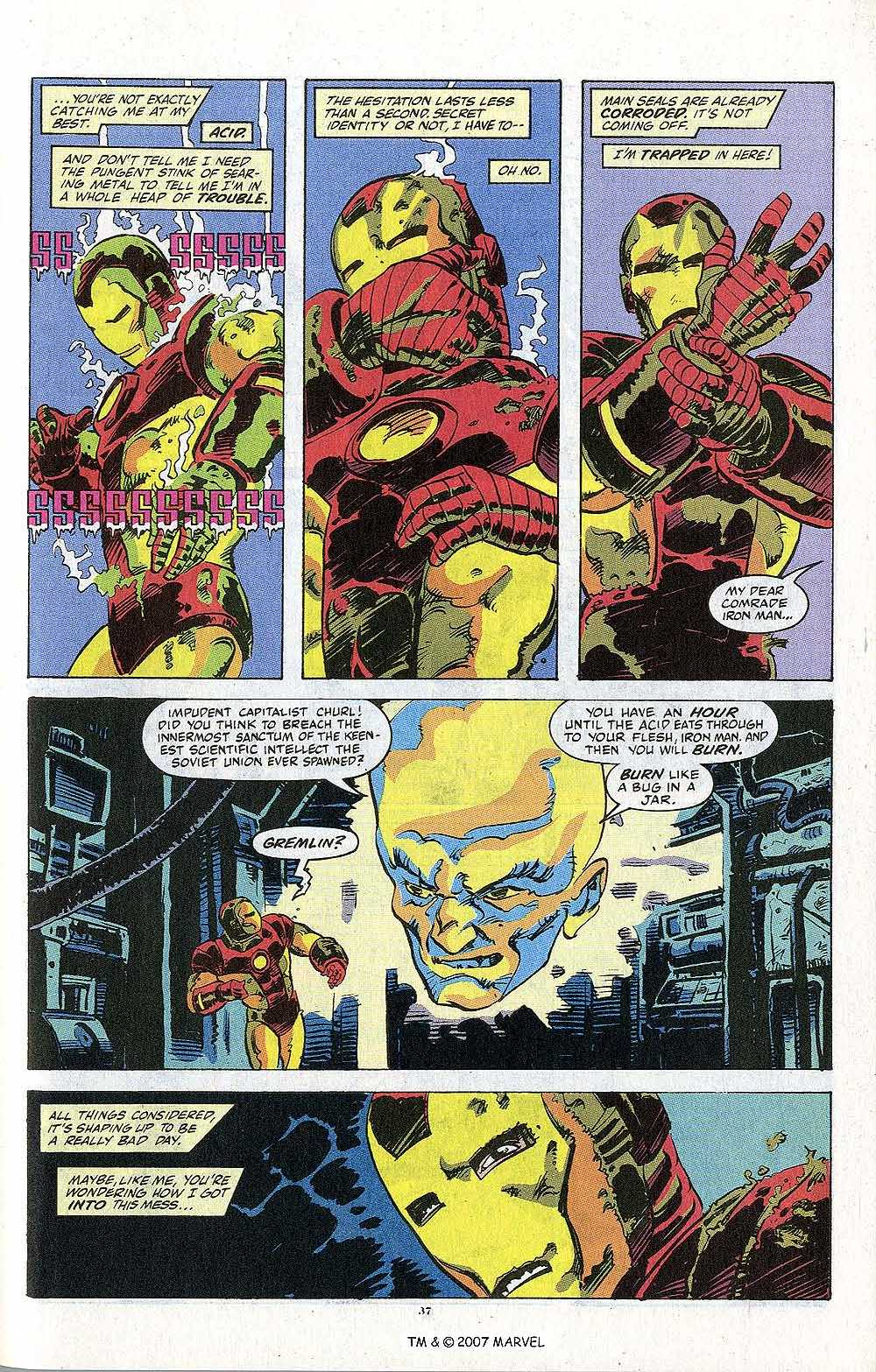 Iron Man Annual issue 13 - Page 39
