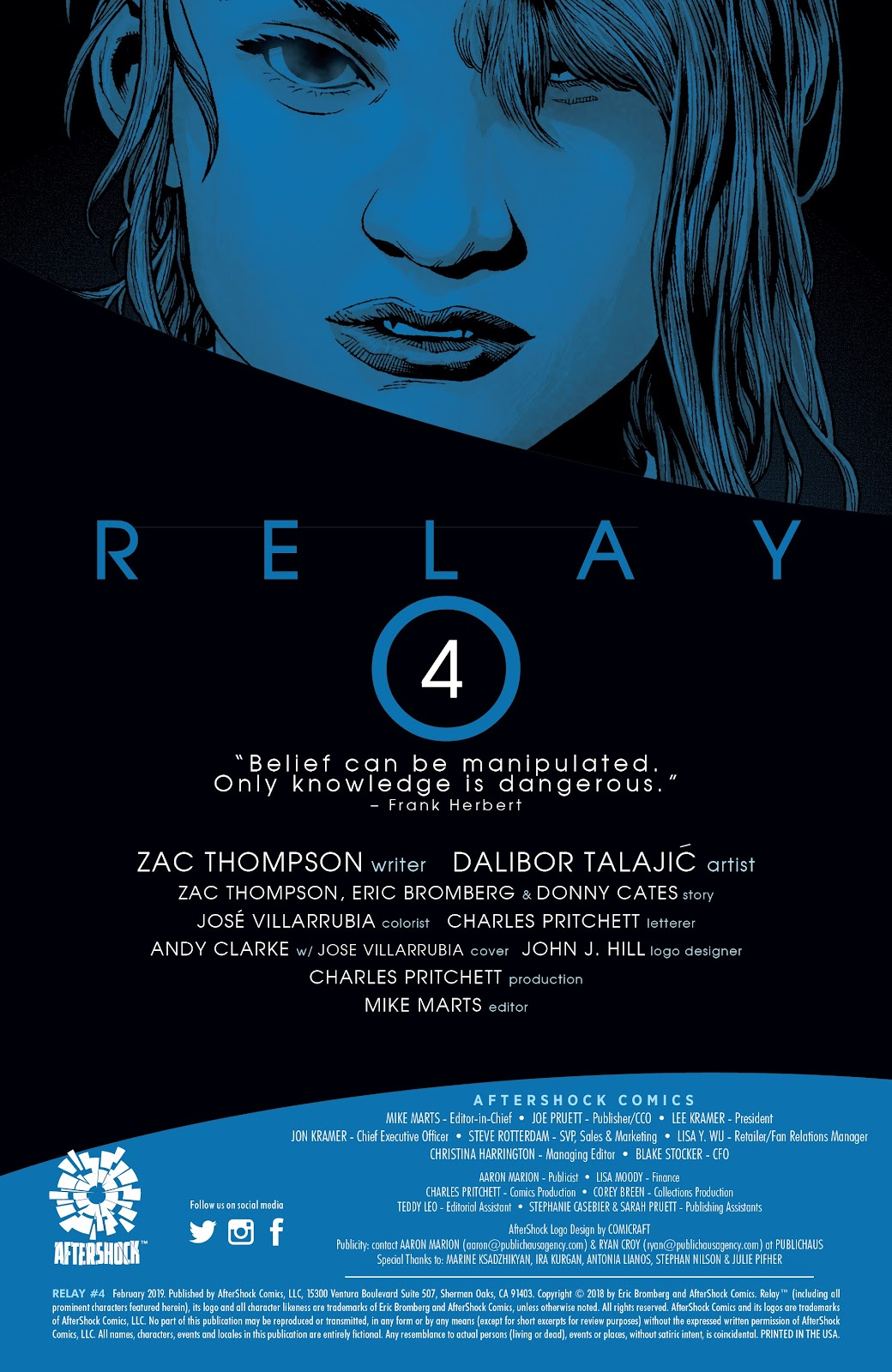 Read online Relay comic -  Issue #4 - 2