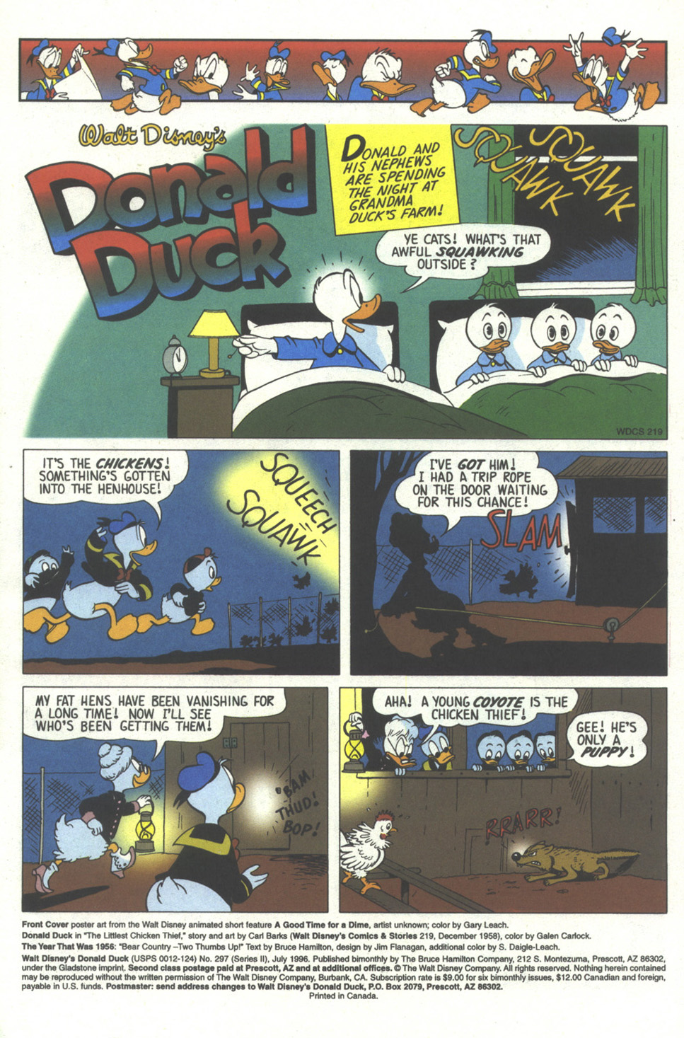 Walt Disney's Donald Duck (1986) issue 297 - Page 3