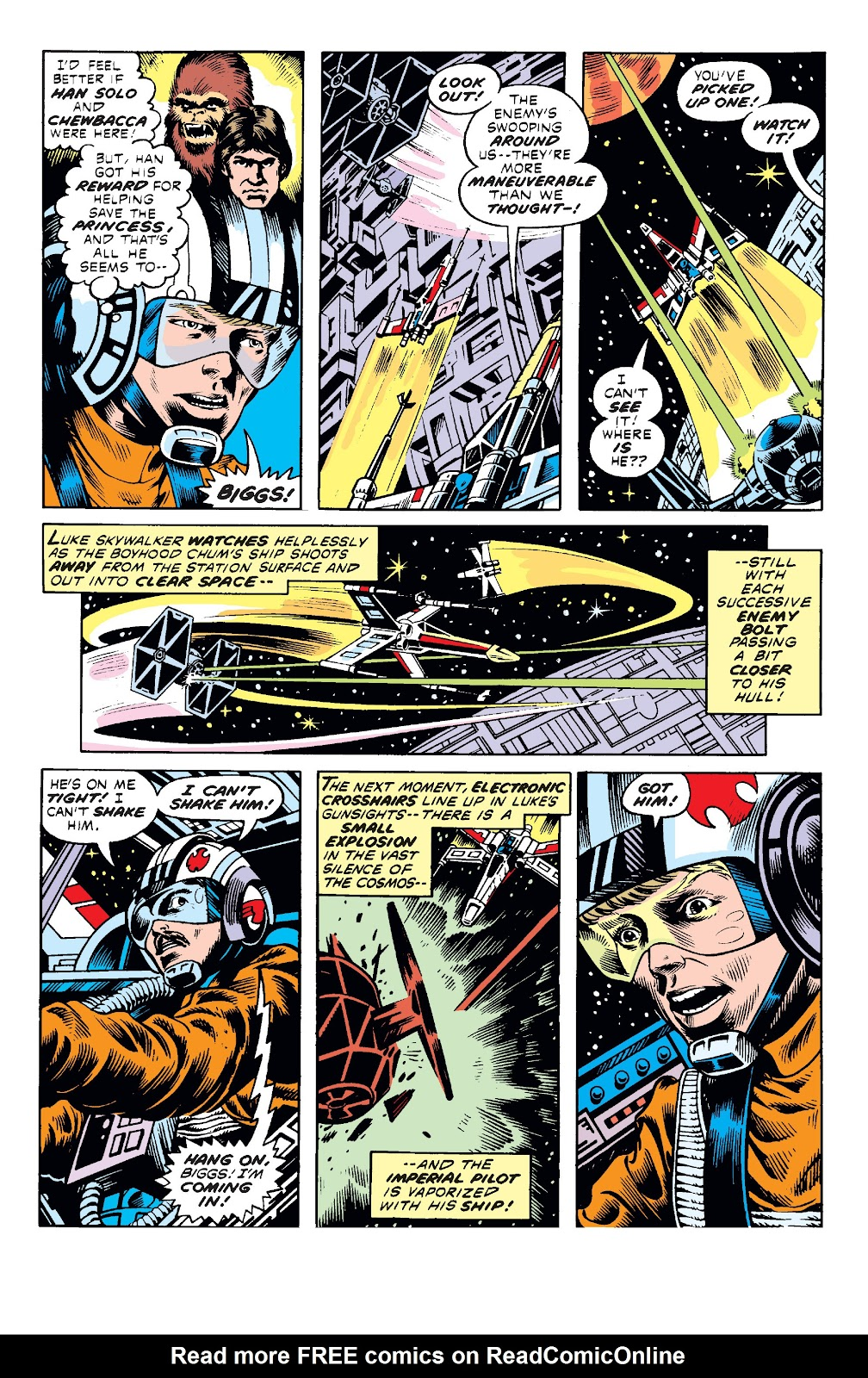 Read online Star Wars Legends: The Original Marvel Years - Epic Collection comic -  Issue # TPB 1 (Part 2) - 5