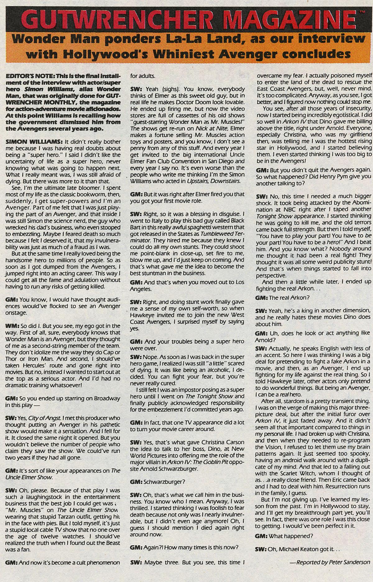 Read online Wonder Man (1991) comic -  Issue #3 - 25