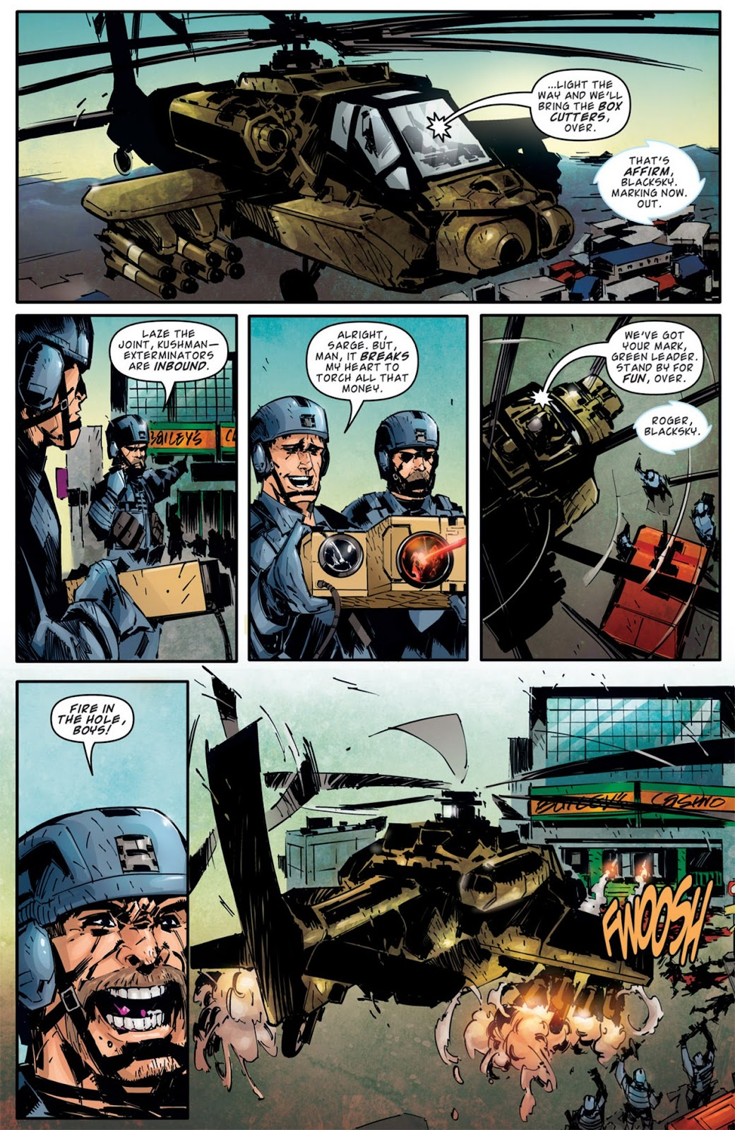 Read online Dead Rising: Road to Fortune comic -  Issue #2 - 9
