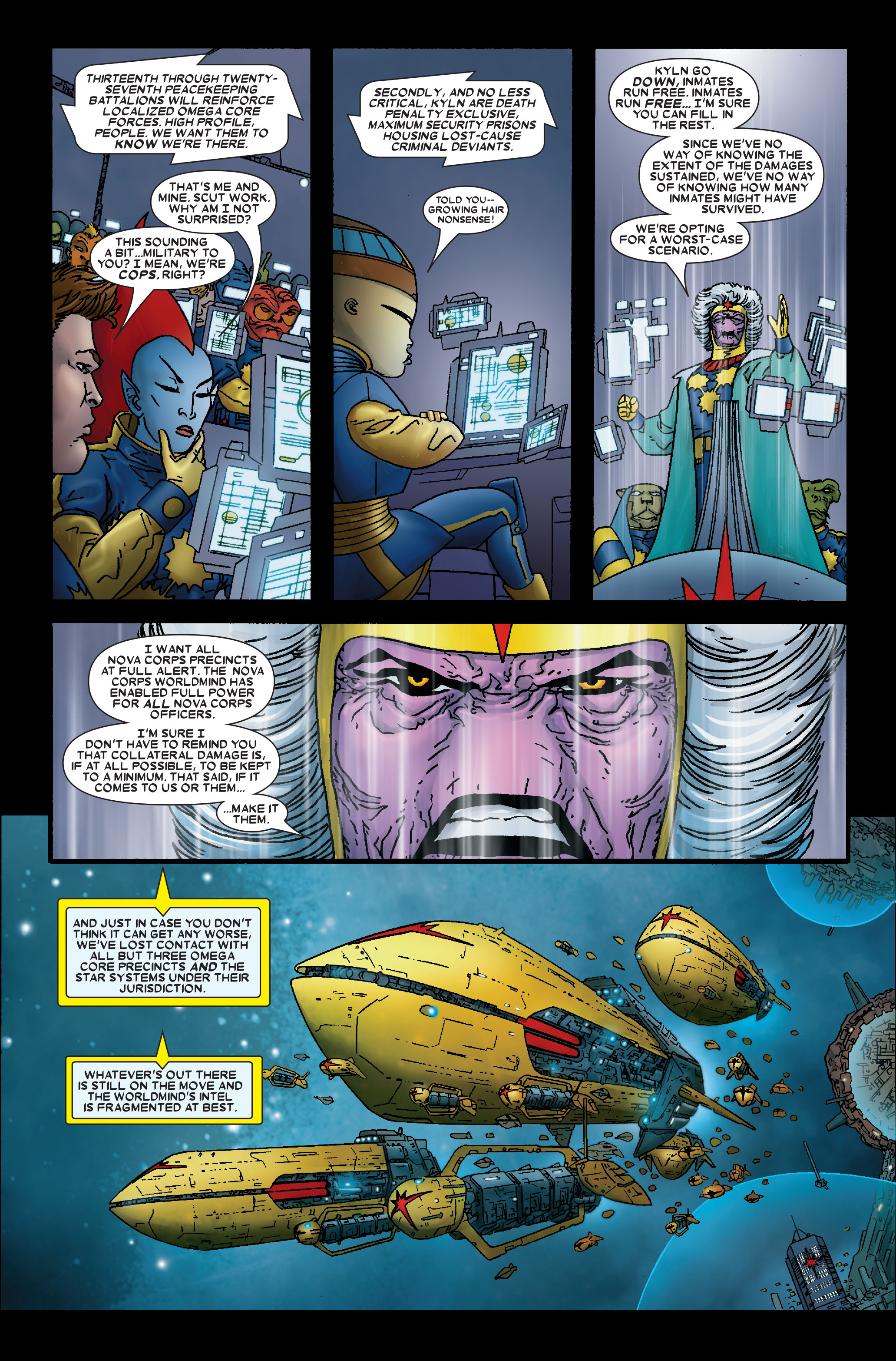 Read online Annihilation: Prologue comic -  Issue #Annihilation: Prologue Full - 15