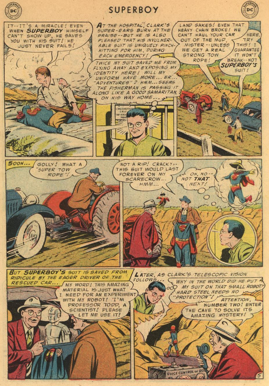 Superboy (1949) issue 44 - Page 6