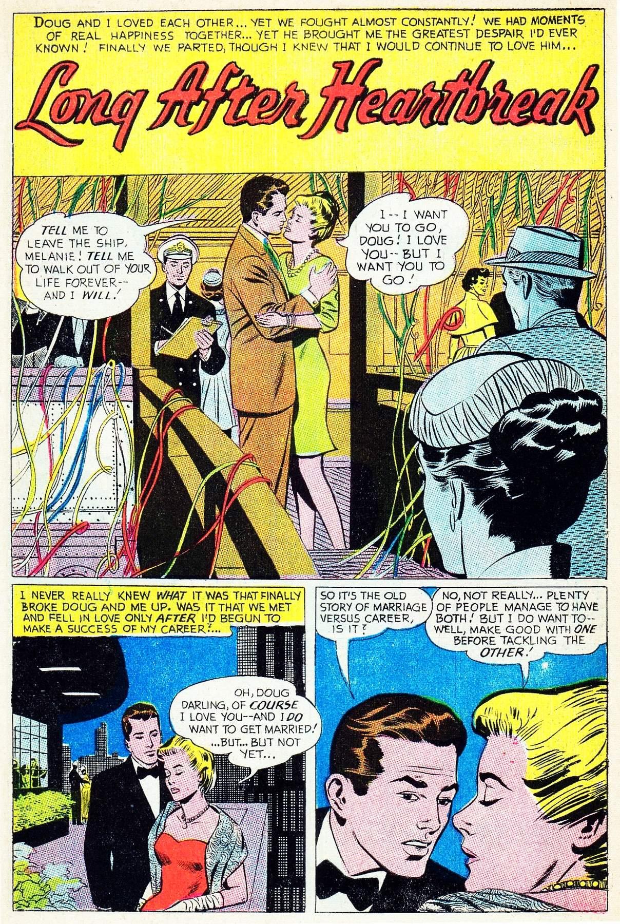 Read online Secret Hearts comic -  Issue #133 - 7