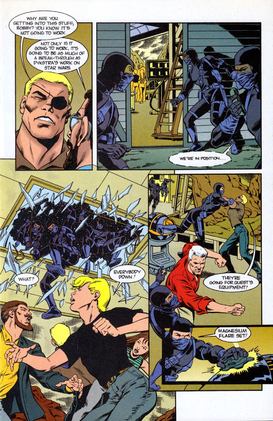 Read online The Real Adventures of Jonny Quest comic -  Issue #7 - 5
