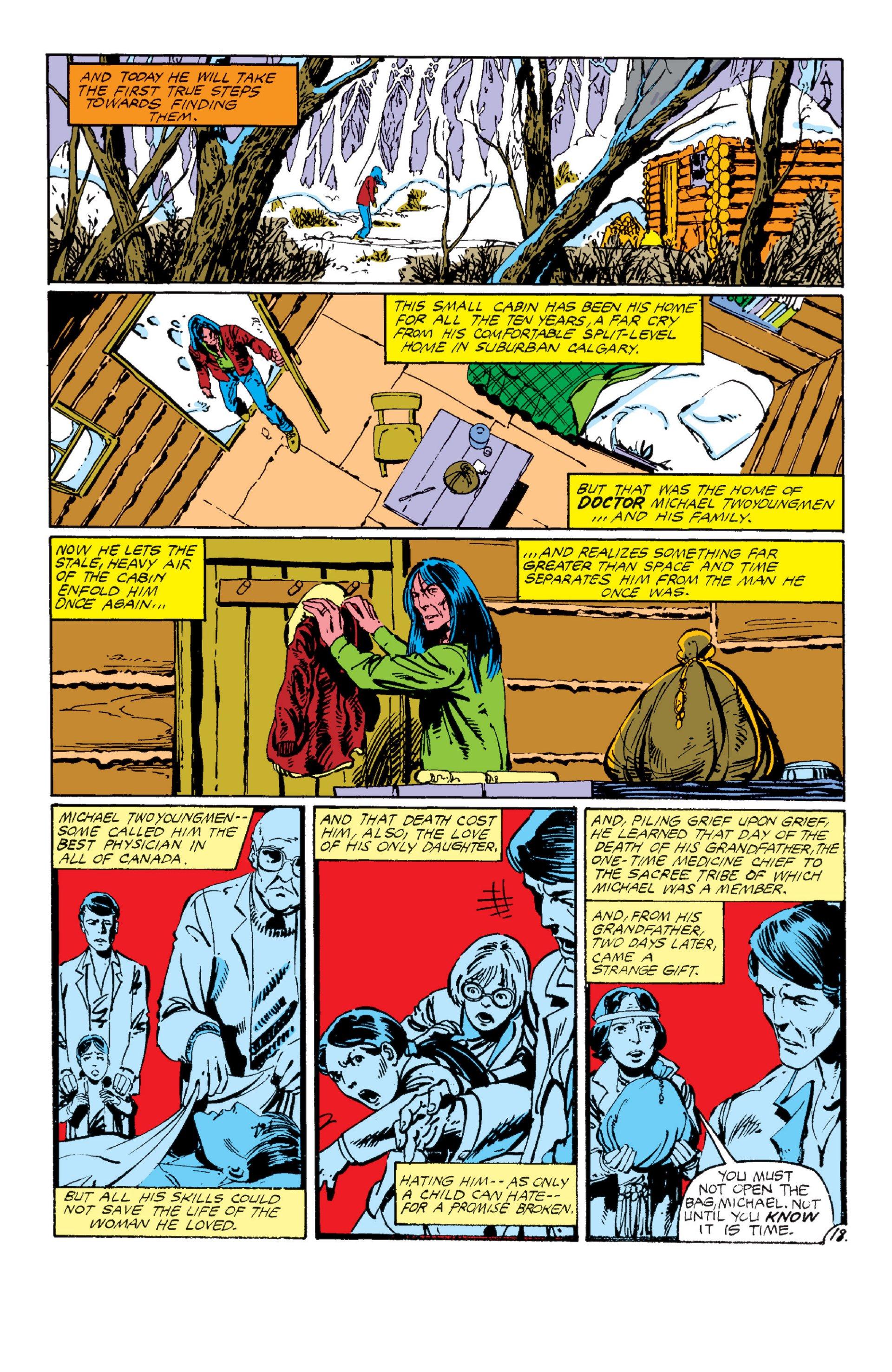 Read online Alpha Flight (1983) comic -  Issue #6 - 18