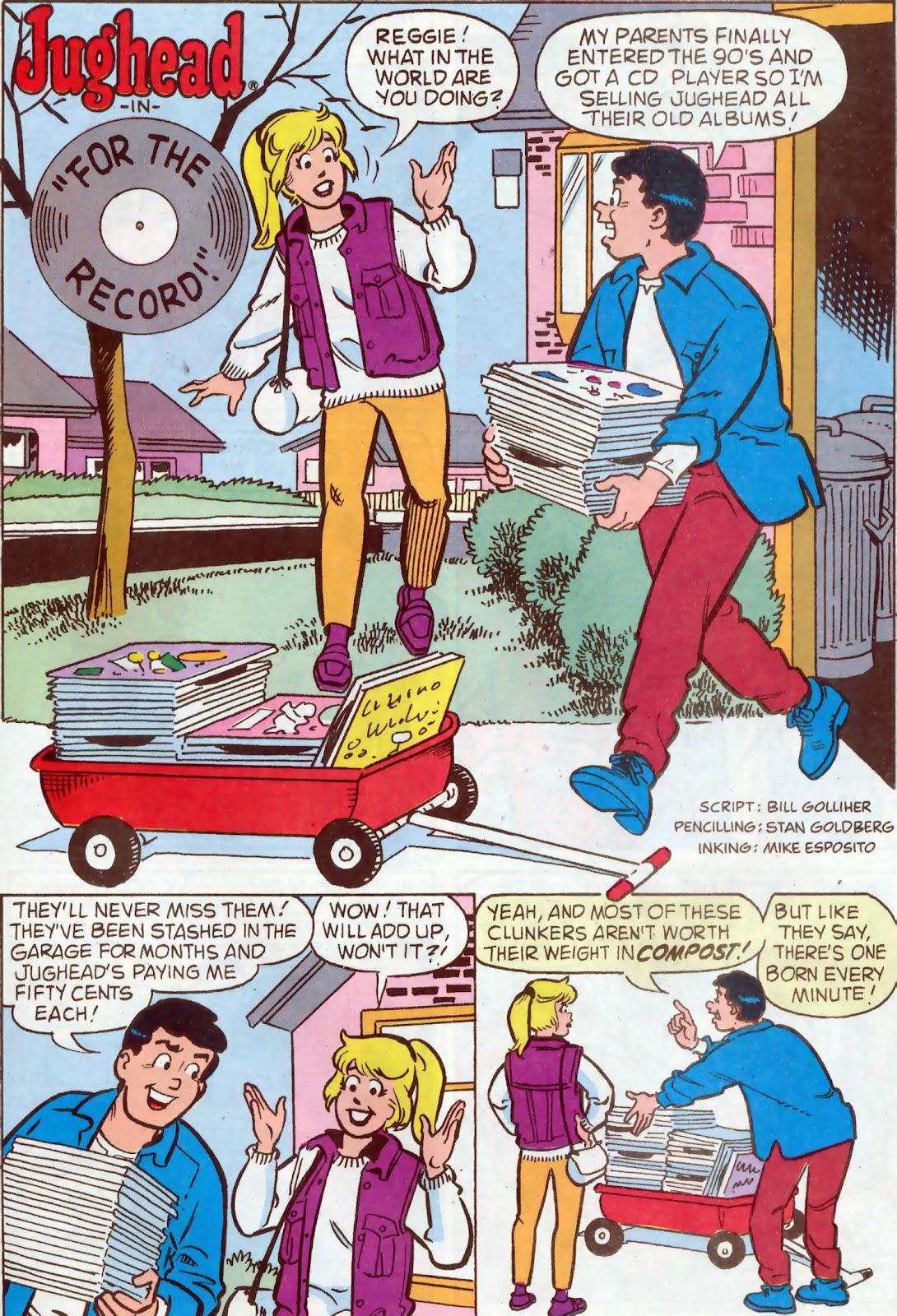 Read online Archie's Pal Jughead Comics comic -  Issue #54 - 18