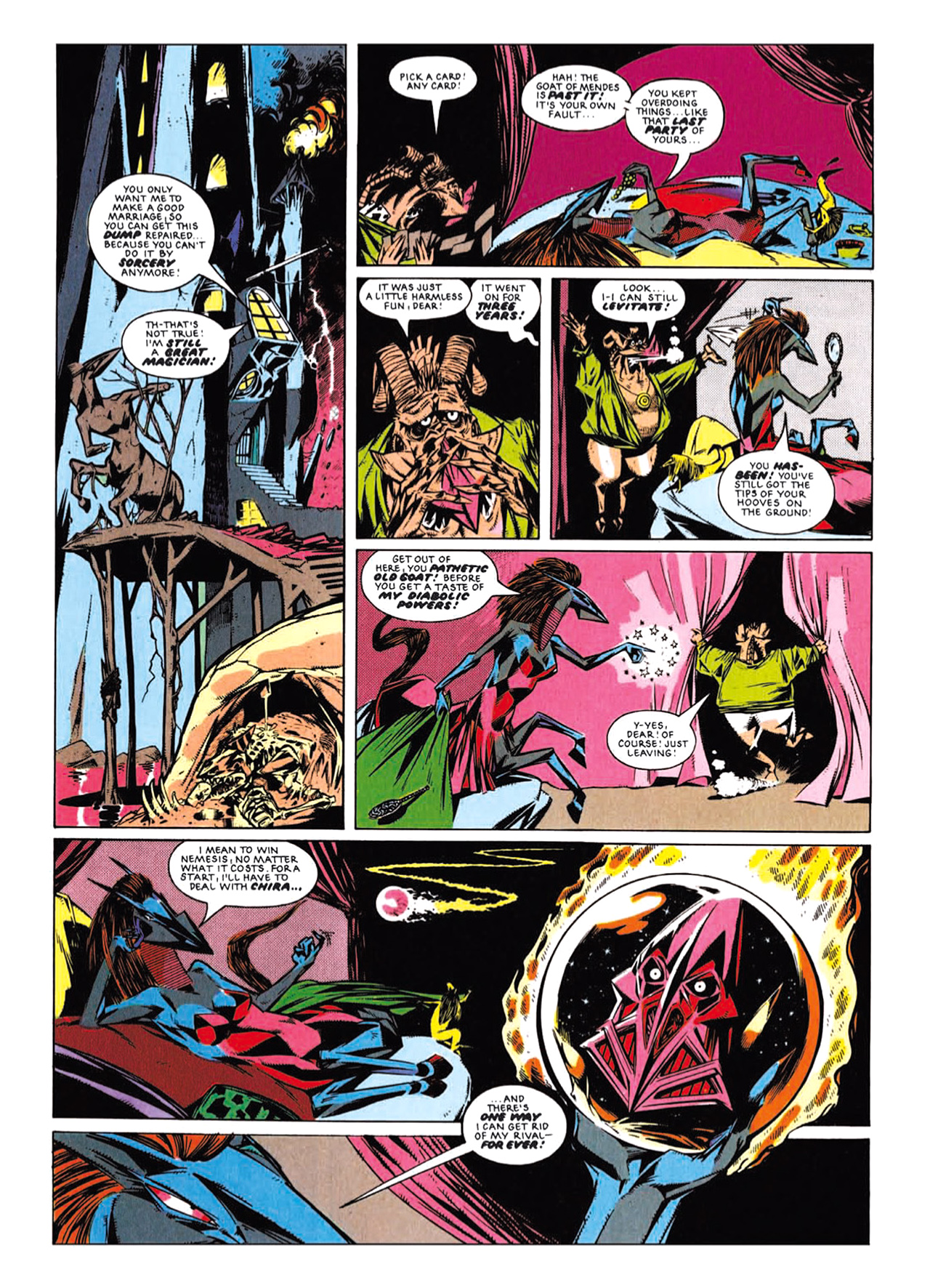 Read online Nemesis The Warlock comic -  Issue # TPB Deviant Edition - 161