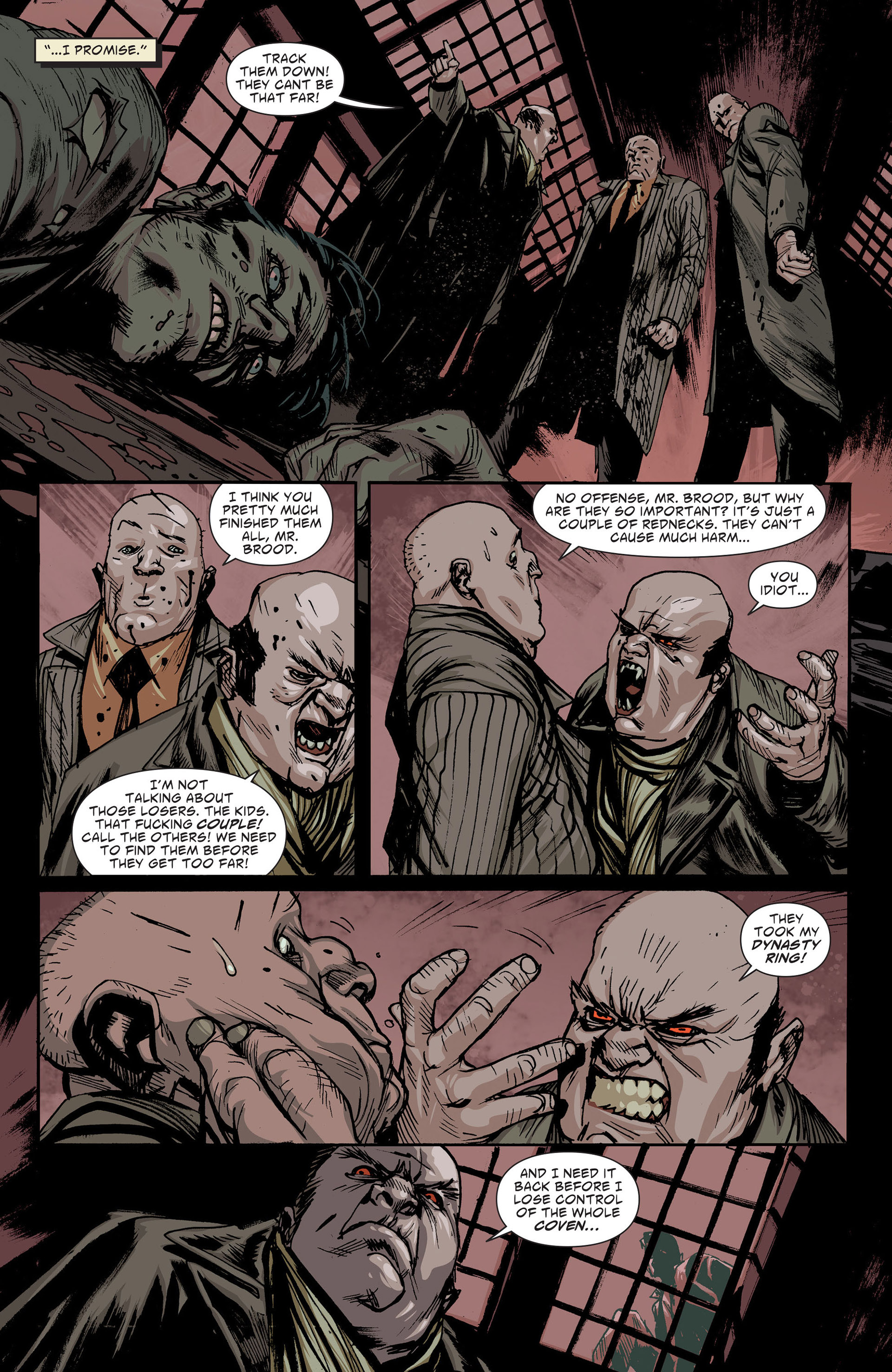 Read online American Vampire: The Long Road To Hell comic -  Issue # Full - 21